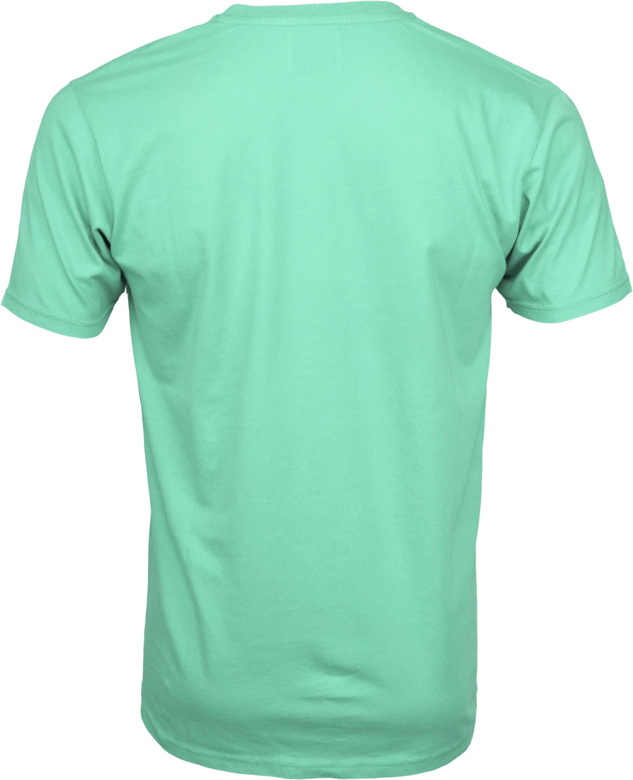 Colorful Standard T-shirt Faded Mint foto 2