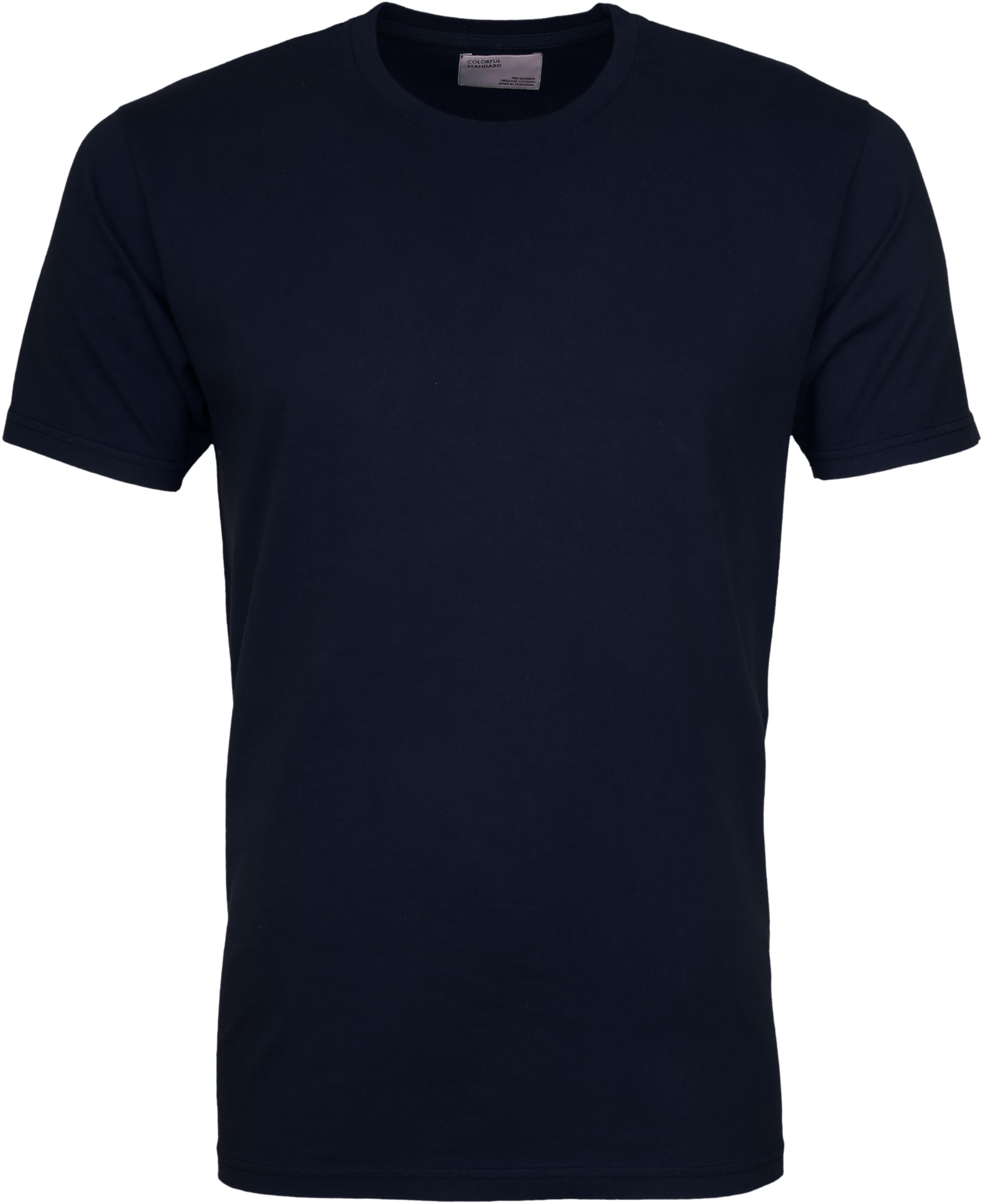 Colorful Standard T-shirt Navy Blue foto 0