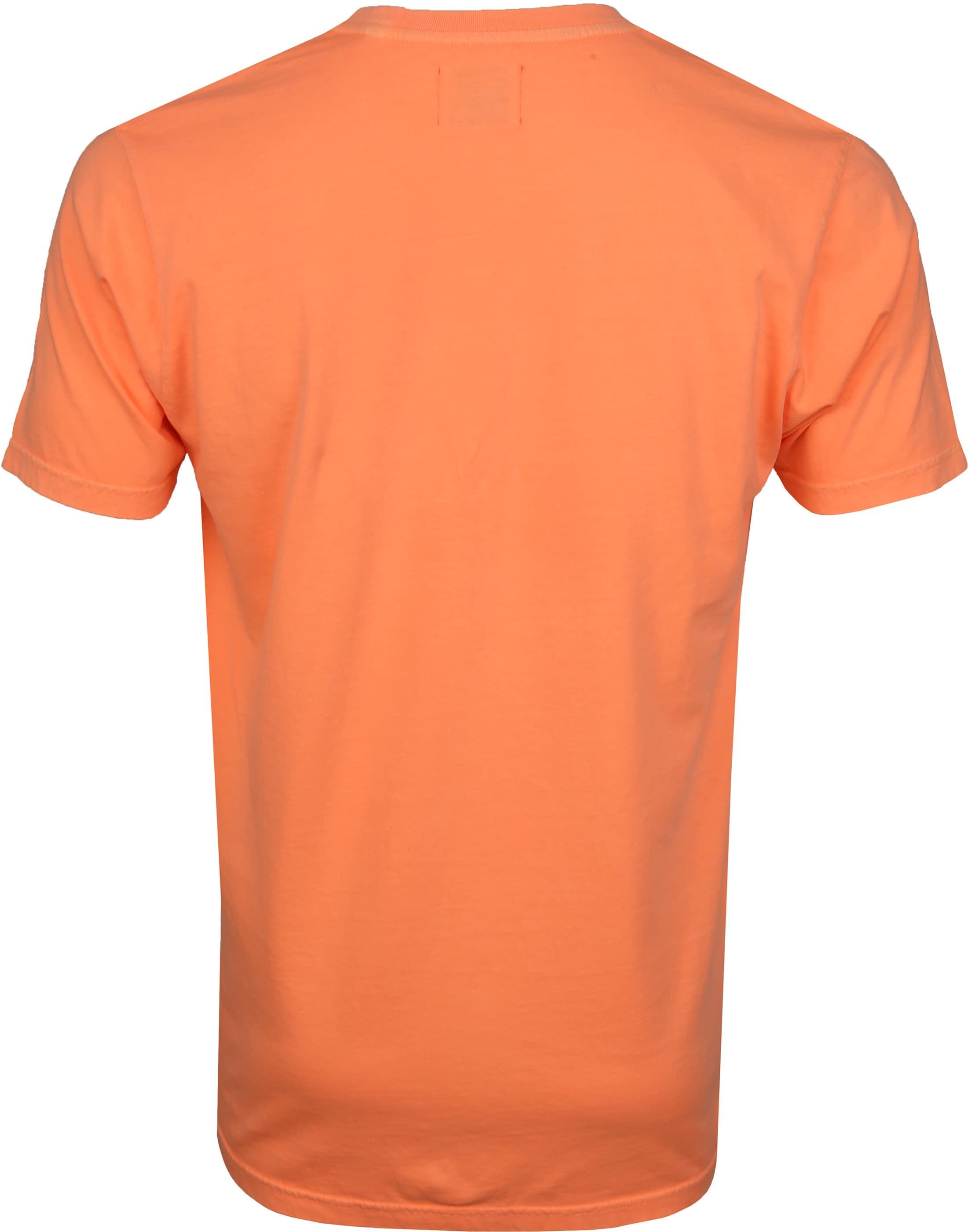 Colorful Standard T-shirt Neon Orange foto 3