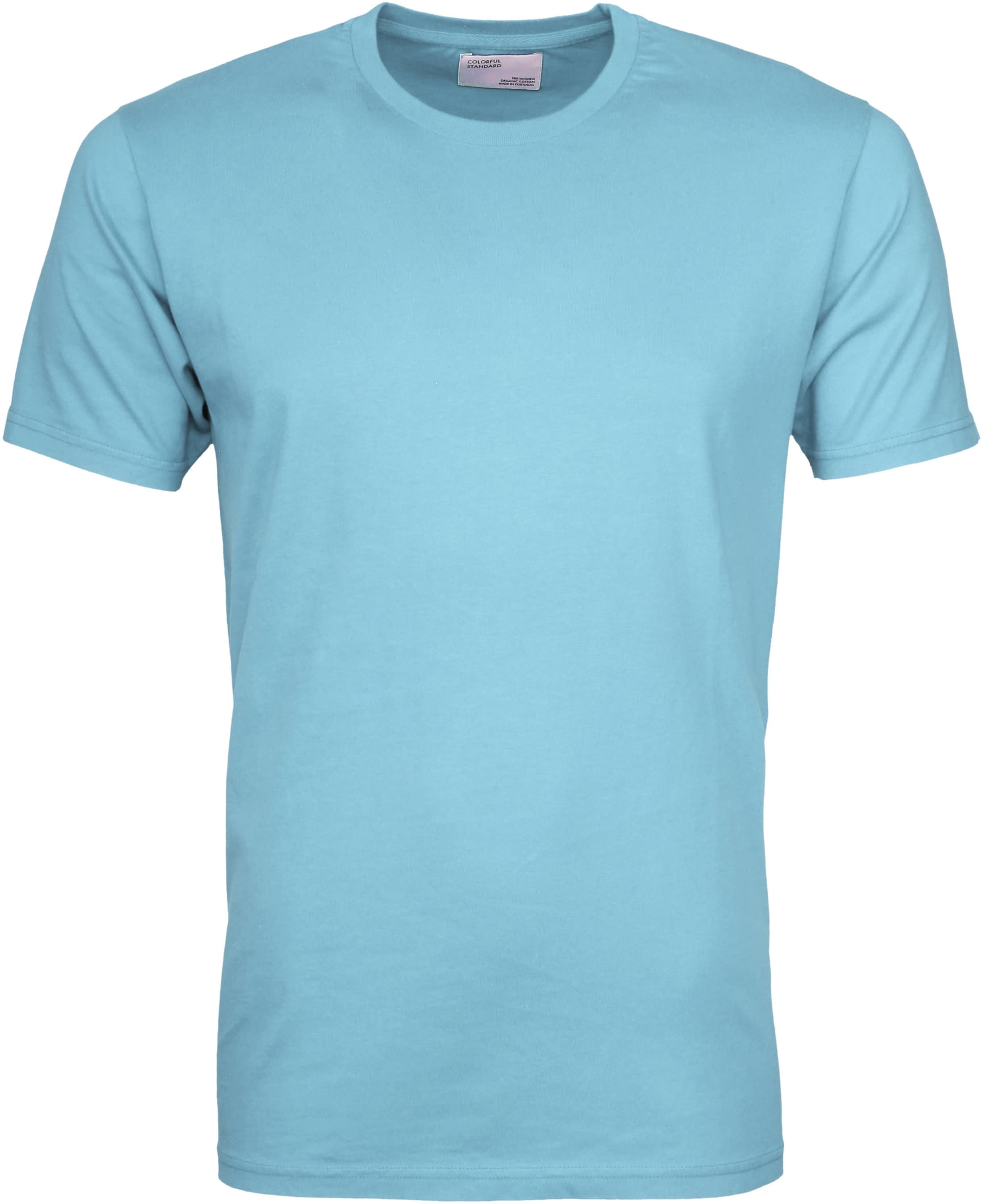 Colorful Standard T-shirt Polar Blue foto 0