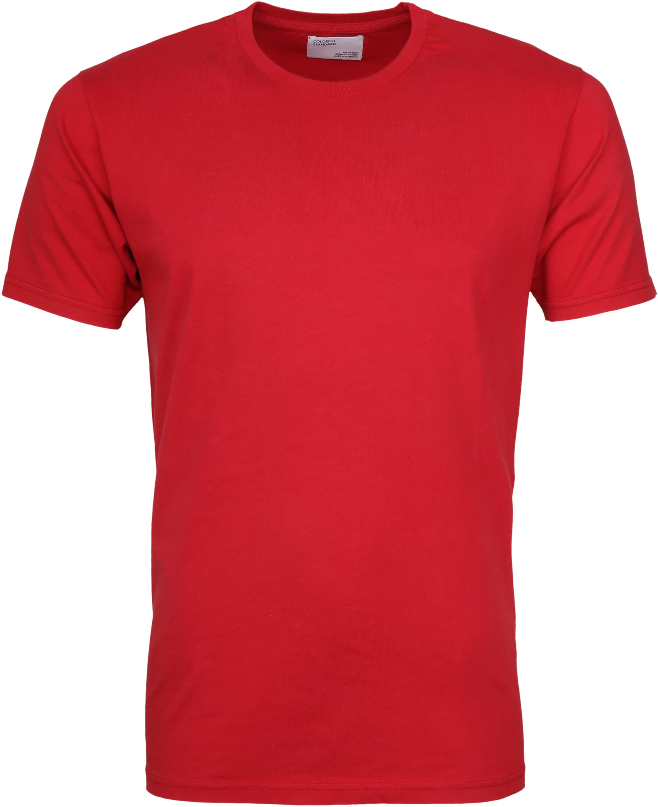 Colorful Standard T-shirt Scarlet Red foto 0