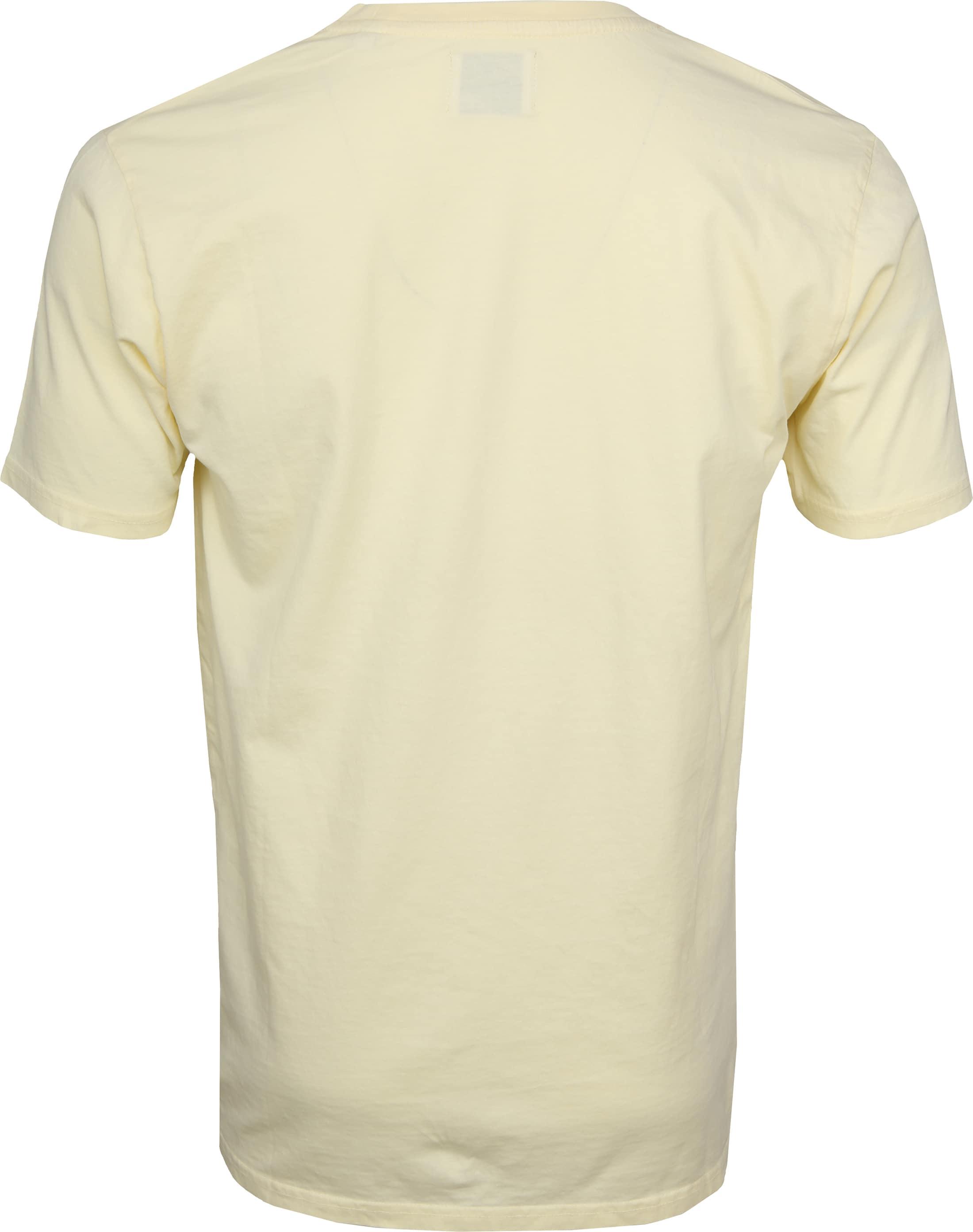 Colorful Standard T-shirt Soft Yellow foto 2