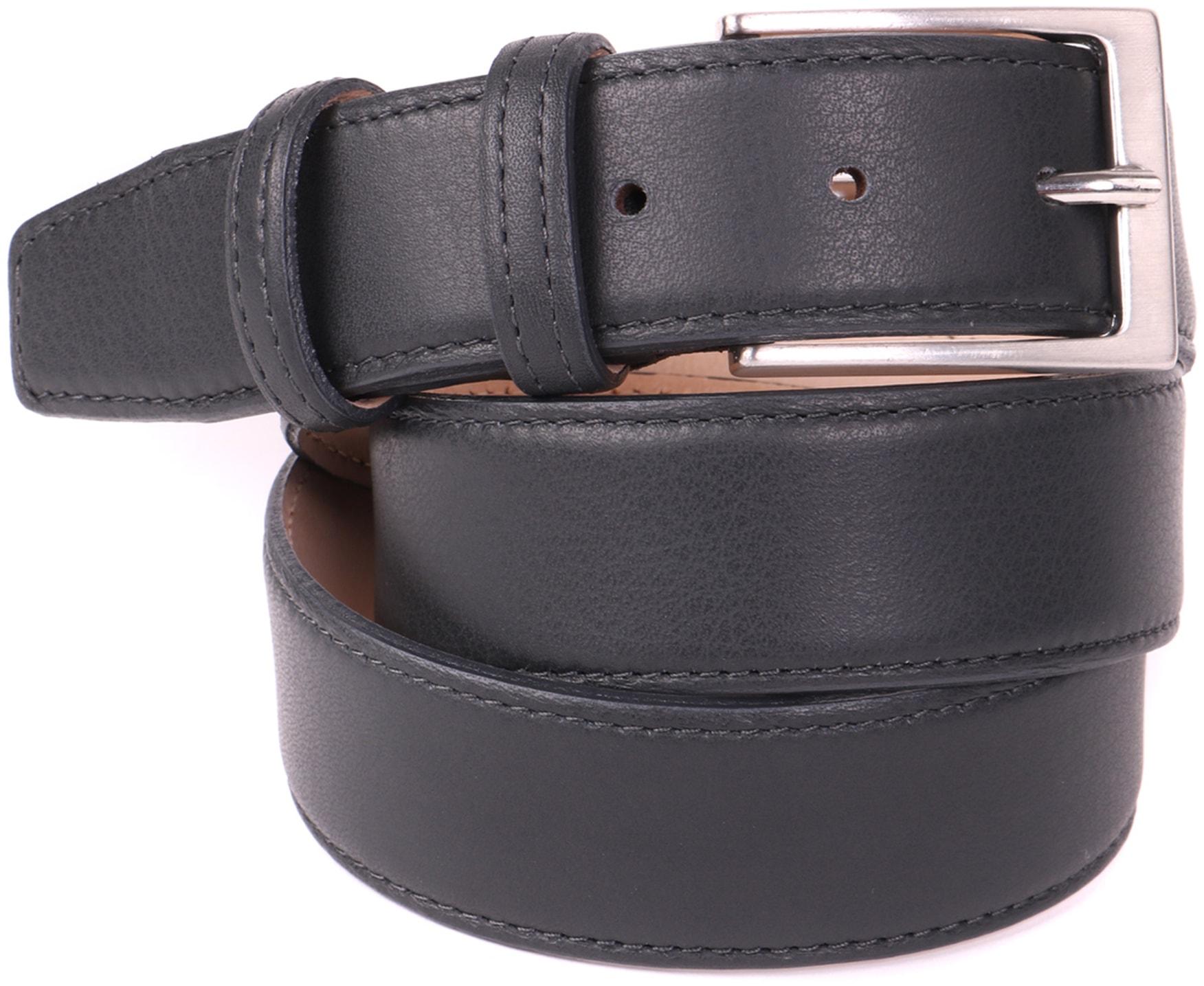 Dark Grey Belt Leather 20-05