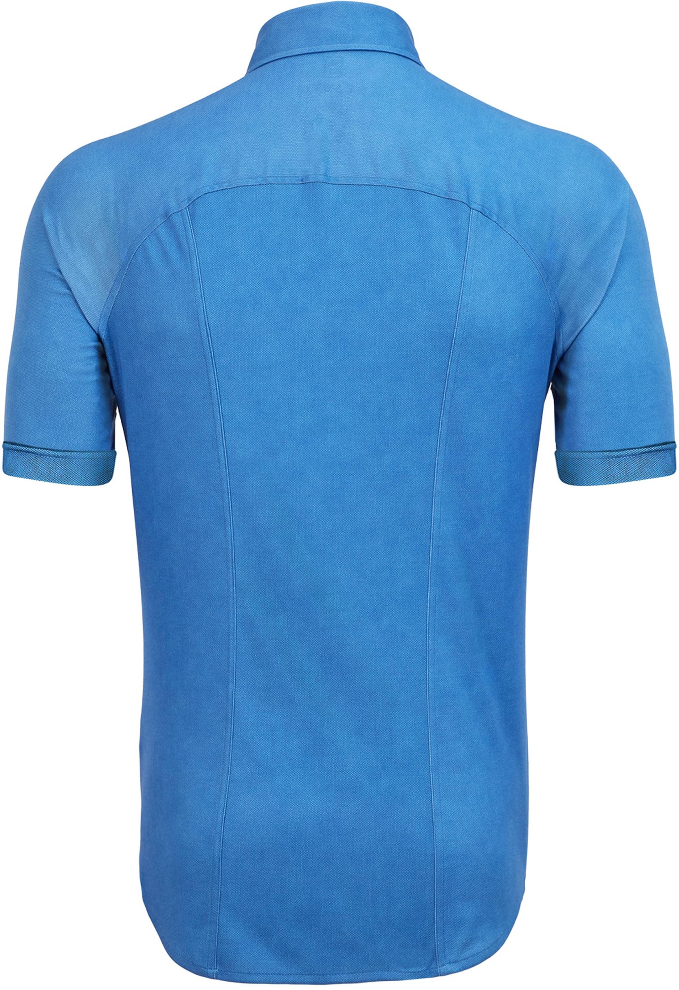 Desoto Overhemd Korte Mouw Blauw foto 1