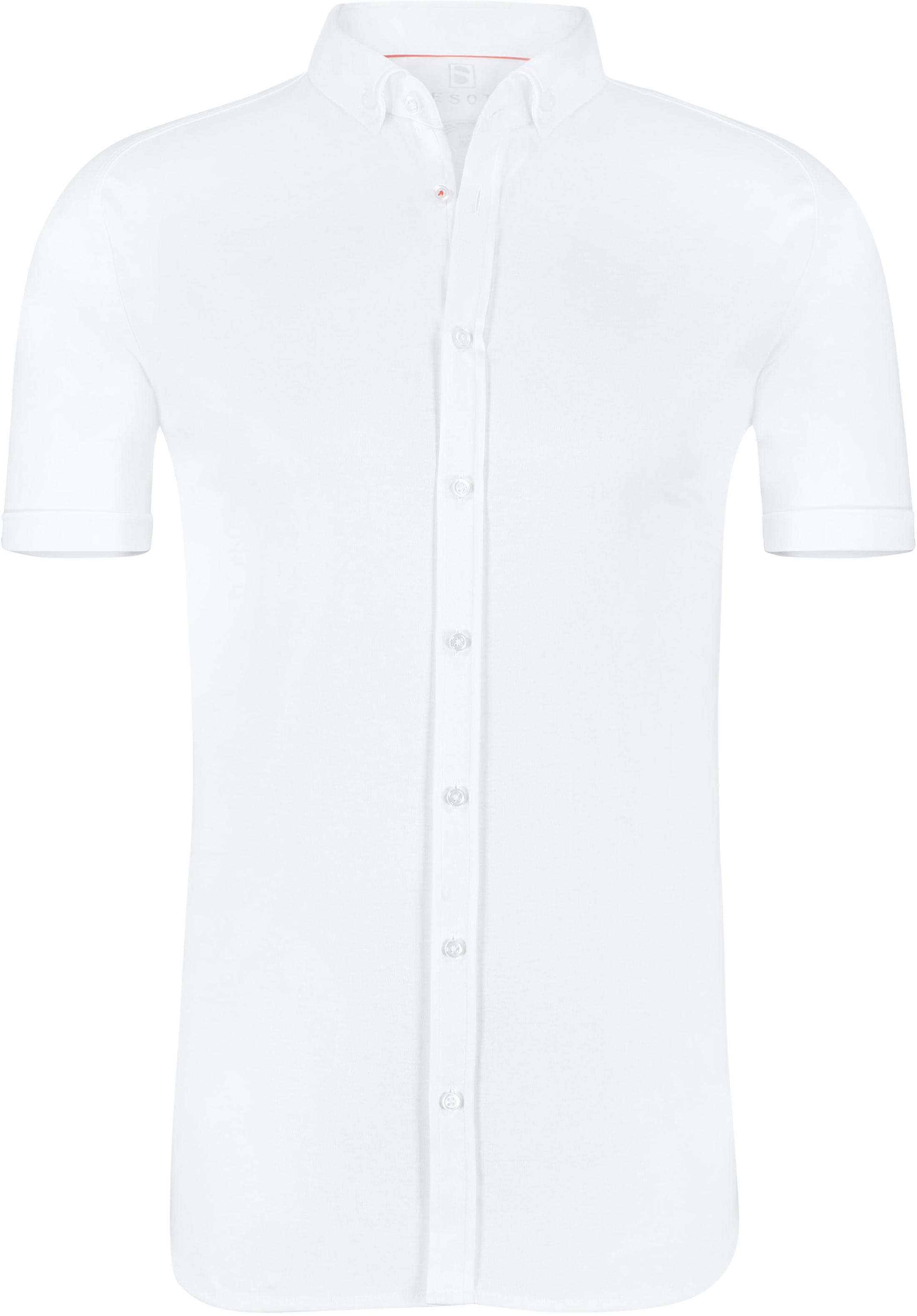 Desoto Overhemd Korte Mouw Wit foto 0