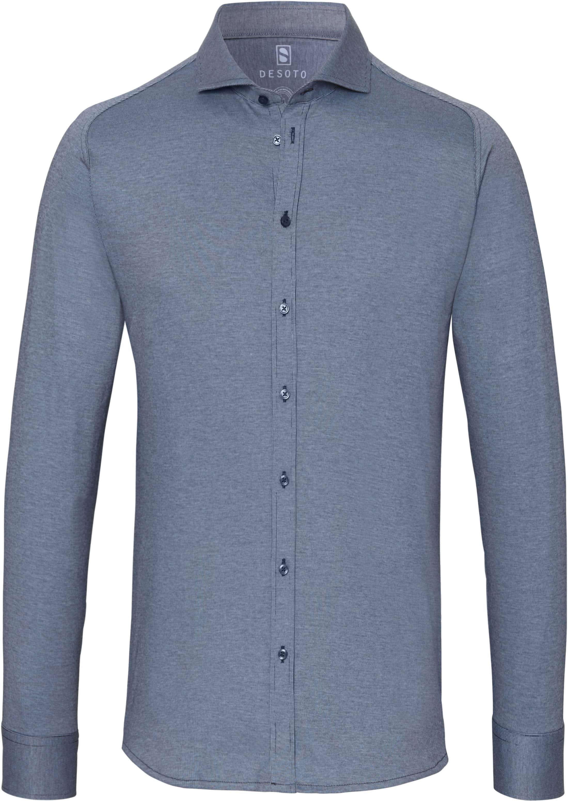 Desoto Overhemd New Hai Blauw