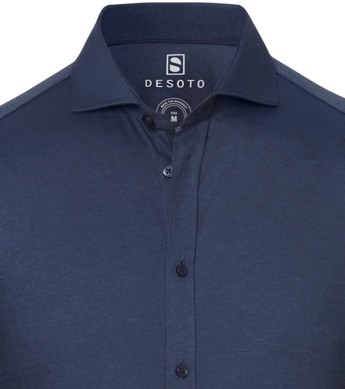 Desoto Overhemd New Hai Navy
