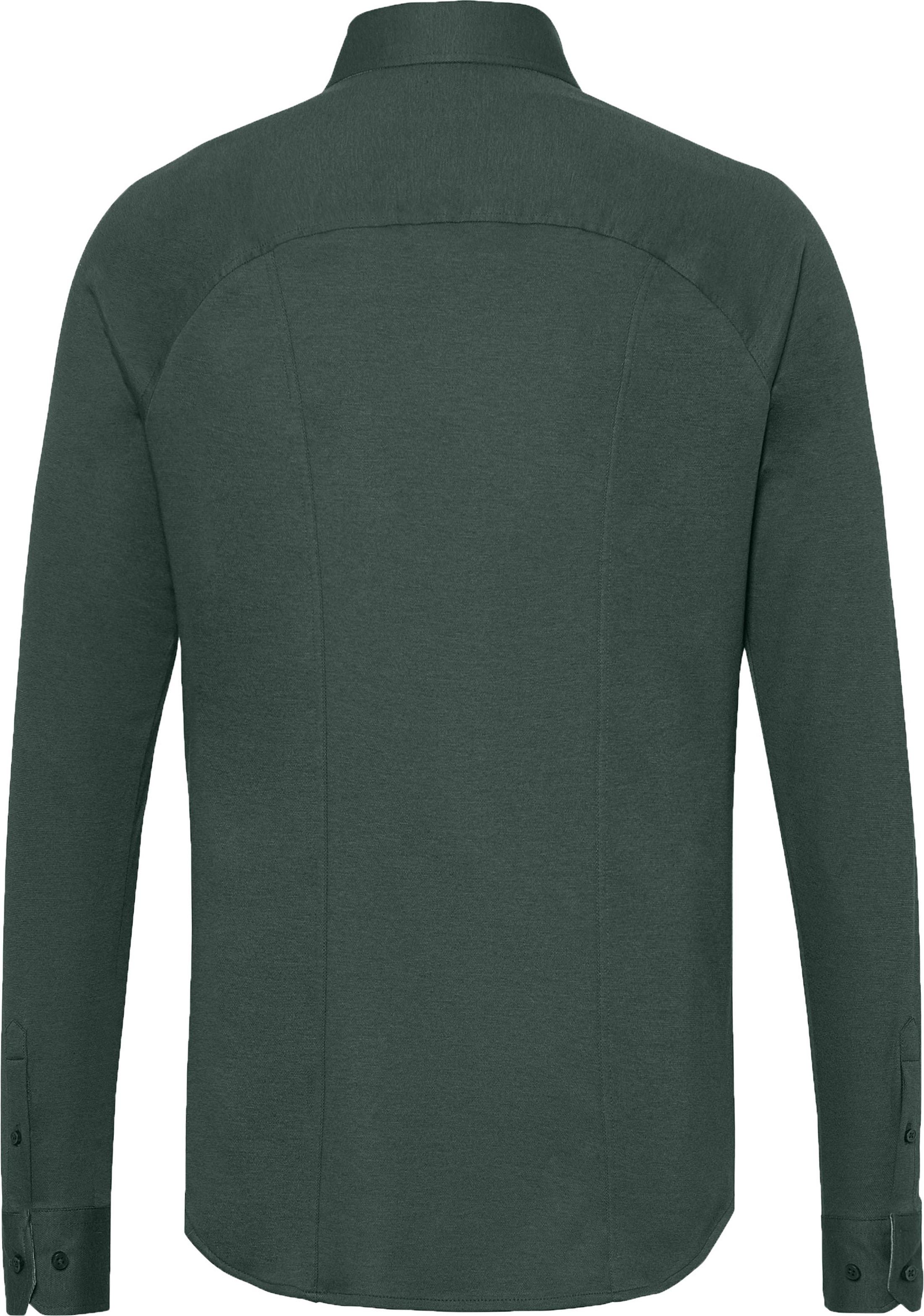 Desoto Overhemd Strijkvrij Donkergroen 602 foto 2