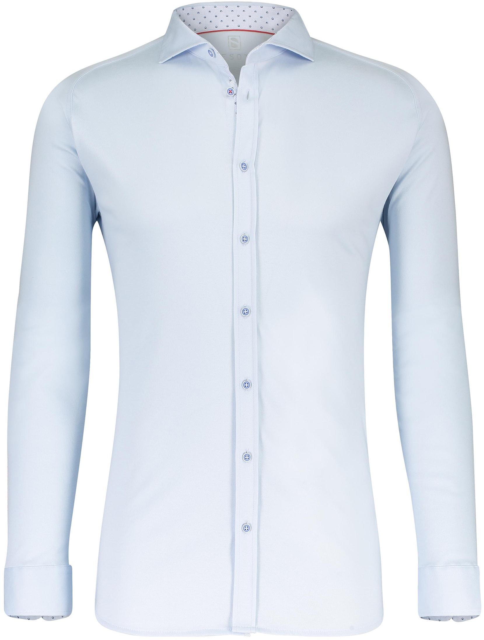 Desoto Overhemd Strijkvrij Lichtblauw foto 0