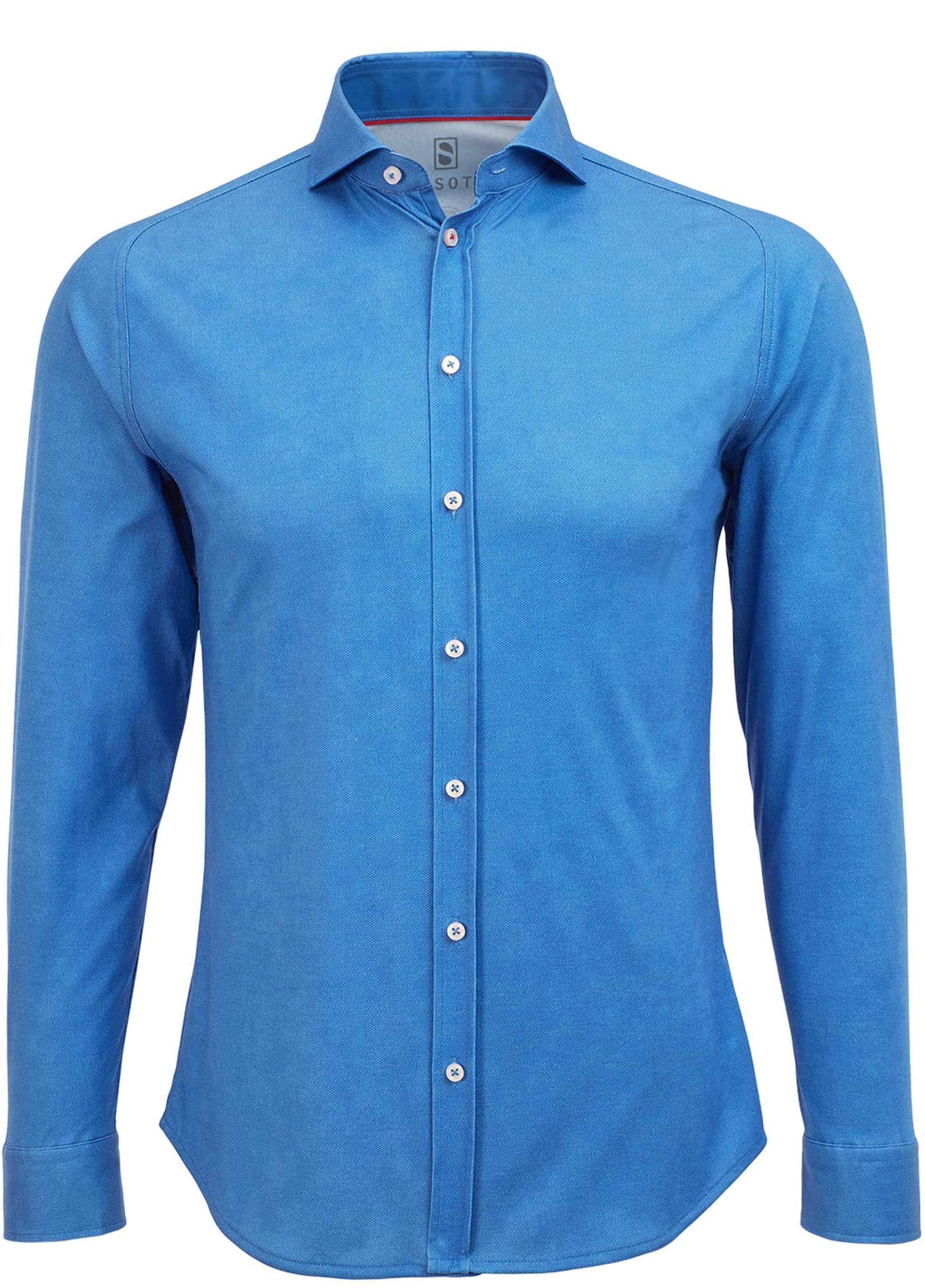 Desoto Overhemd Strijkvrij Royal Oxford foto 0