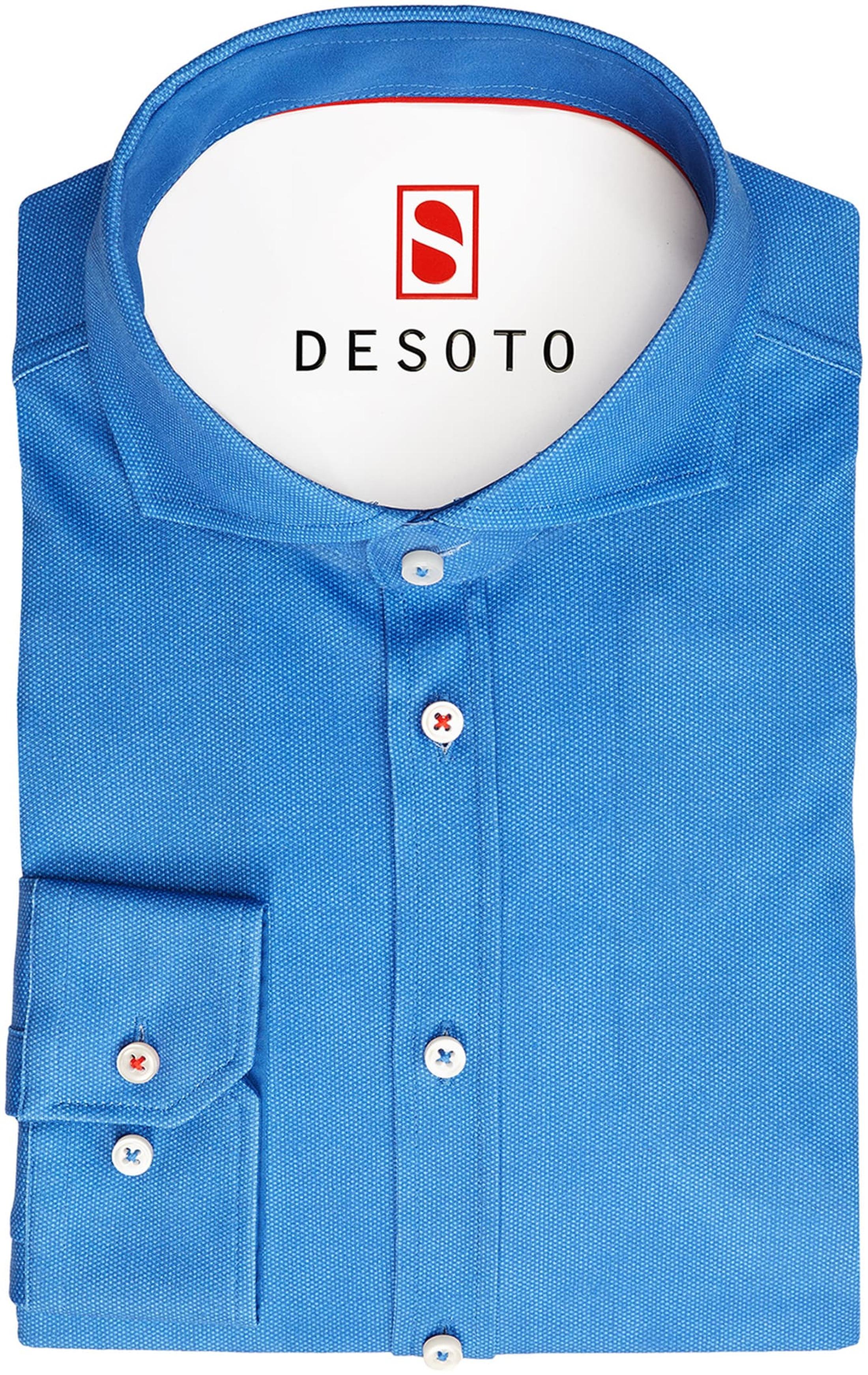Desoto Overhemd Strijkvrij Royal Oxford foto 2