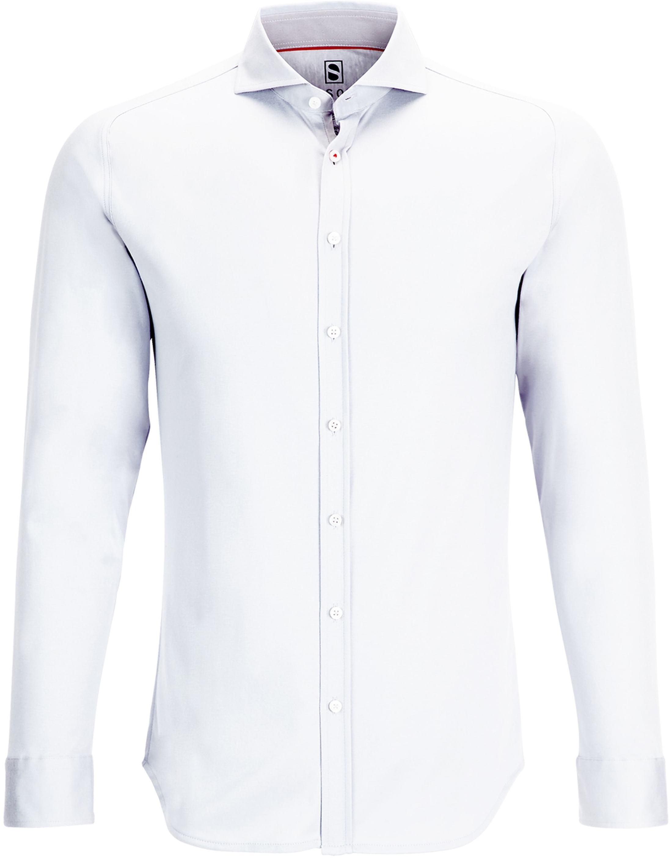 Desoto Overhemd Strijkvrij Wit foto 0