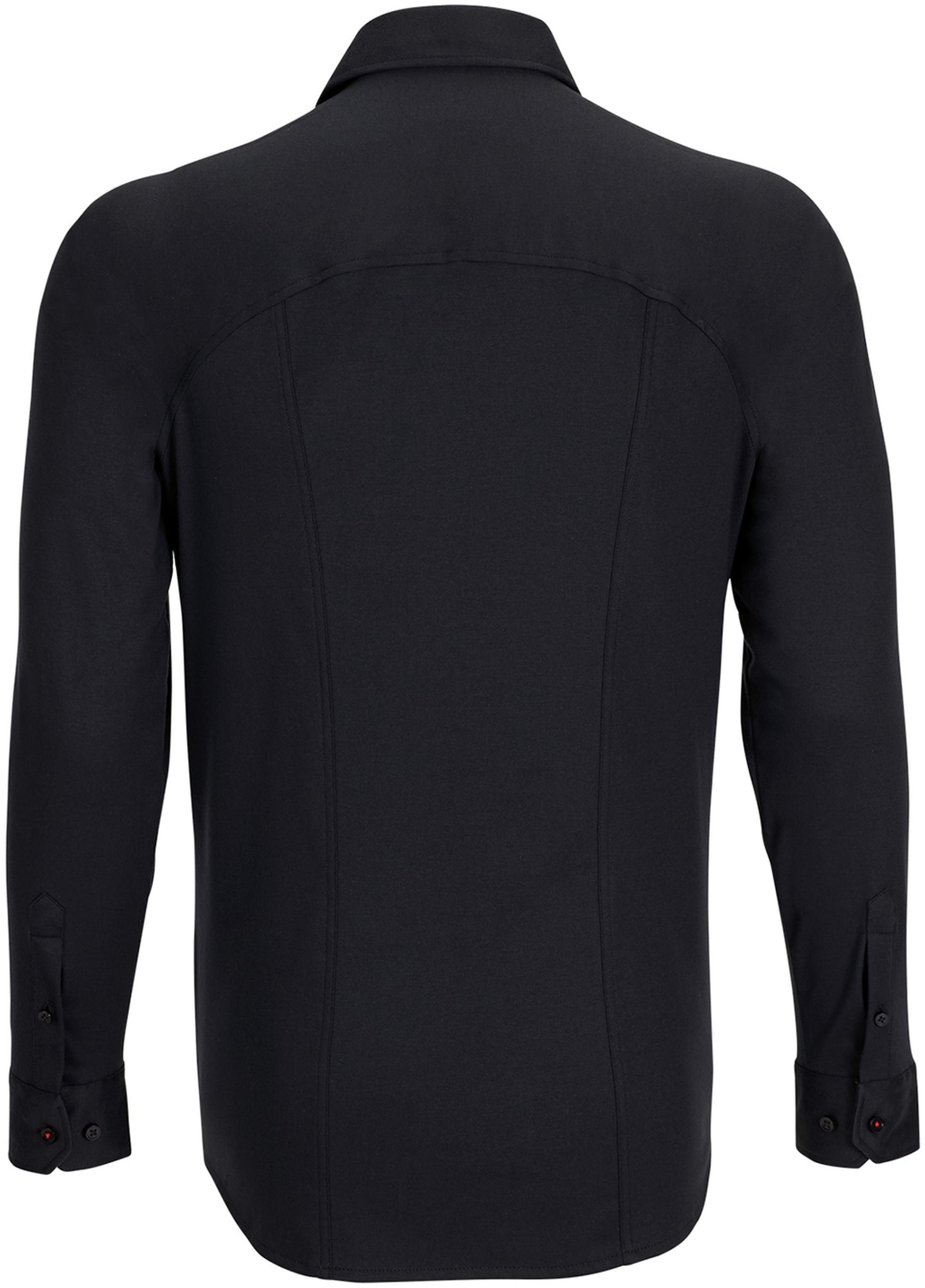 Desoto Overhemd Strijkvrij Zwart foto 1