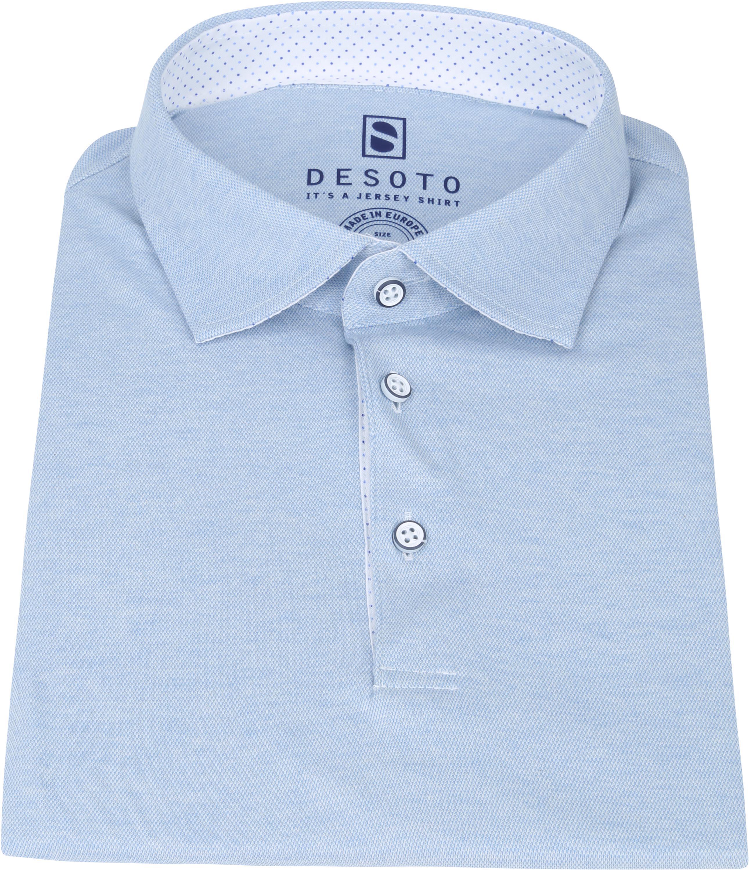 Desoto Polo Hai Lichtblauw