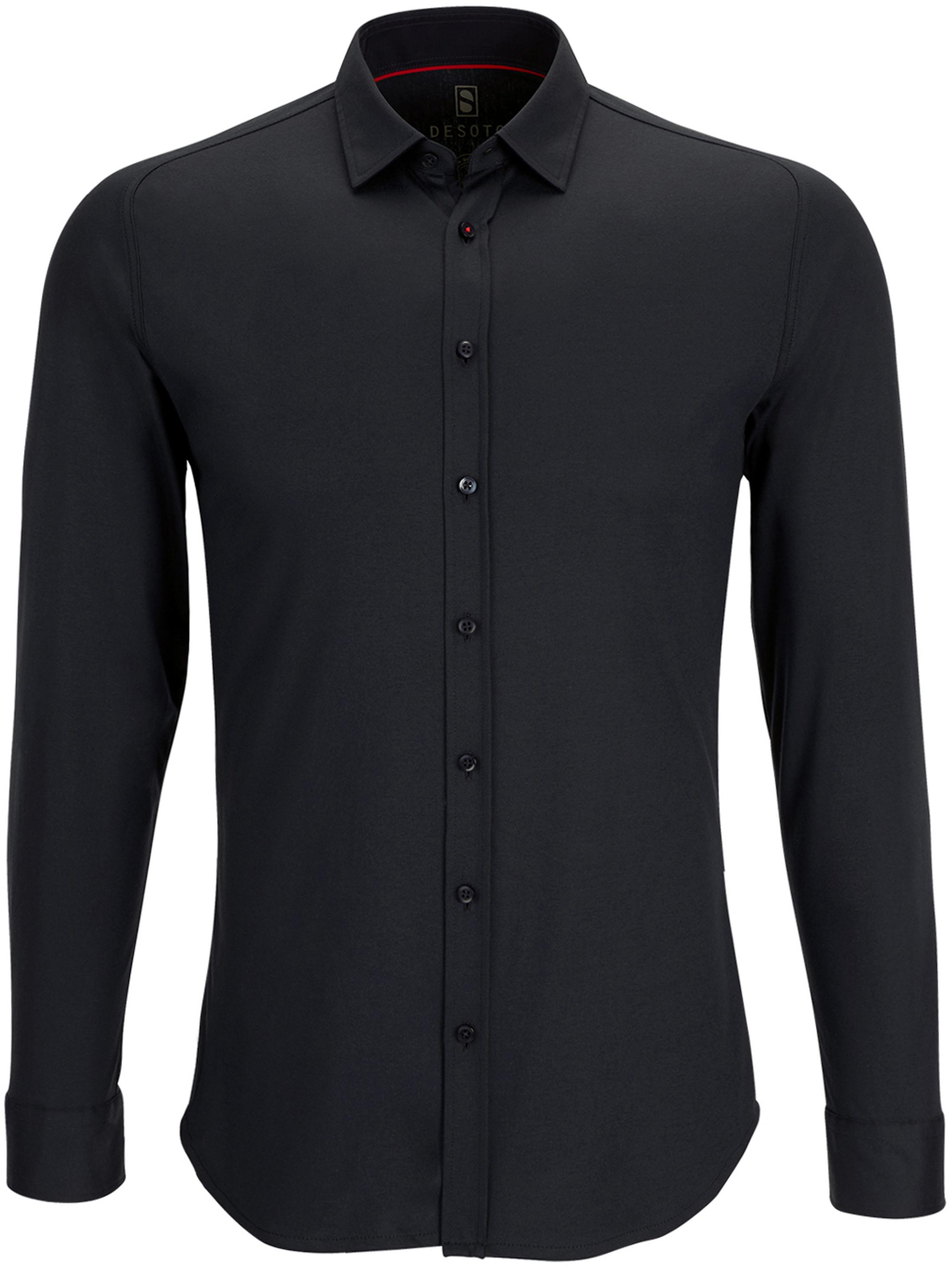 Desoto Shirt Non Iron Black foto 0