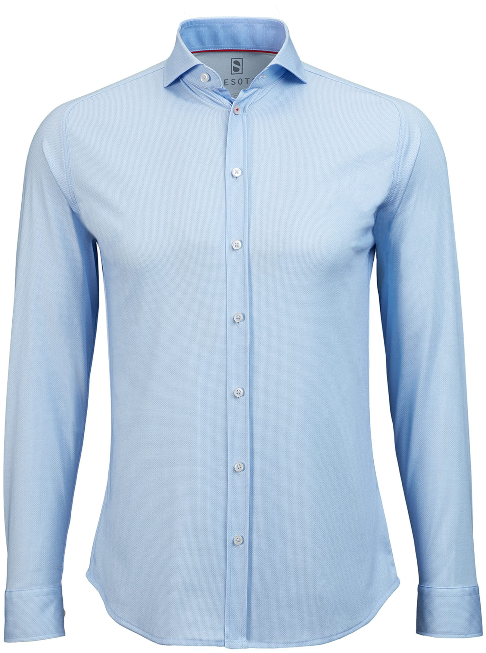 Desoto Shirt Non Iron Blue Oxford