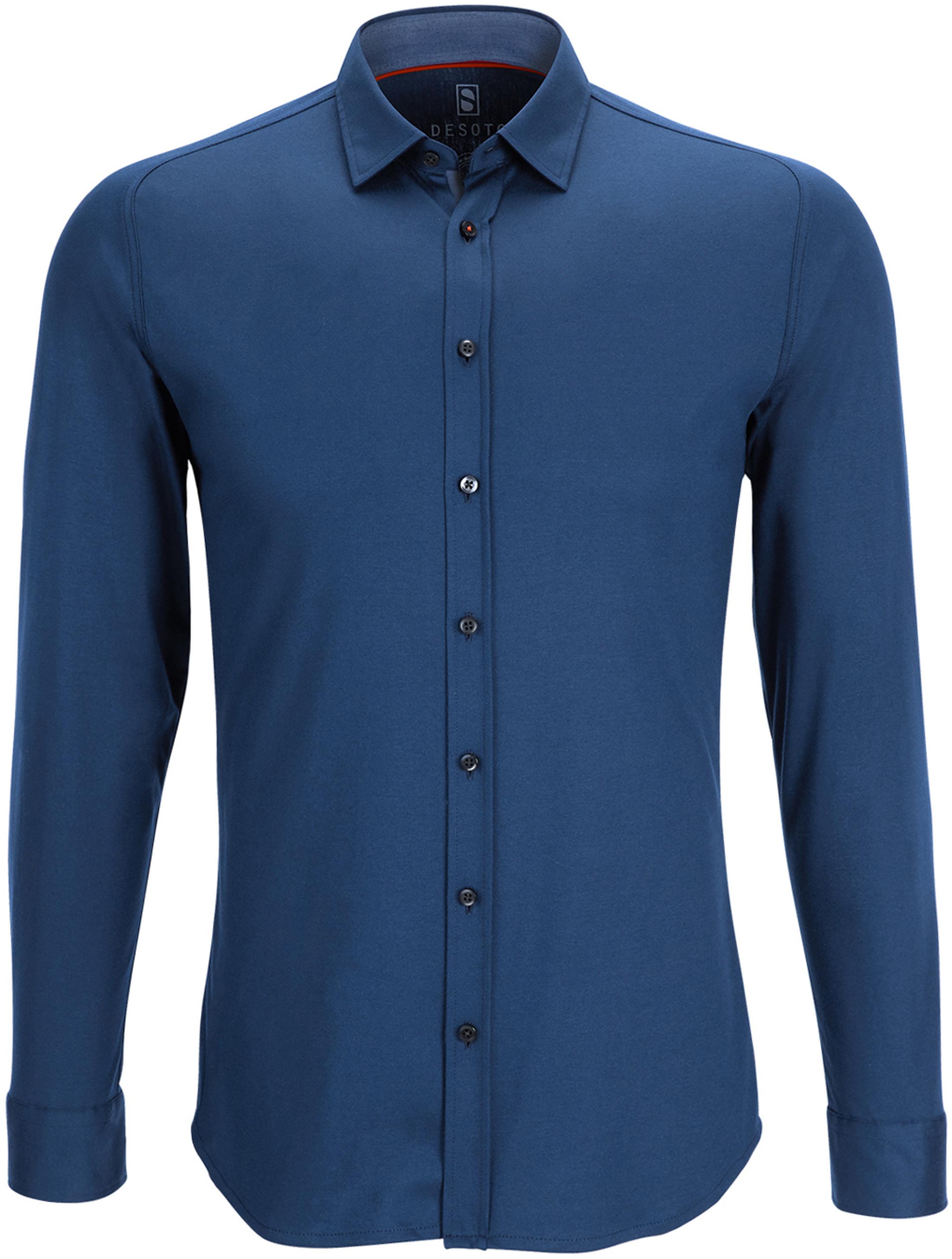 Desoto Shirt Non Iron Indigo Blue foto 0