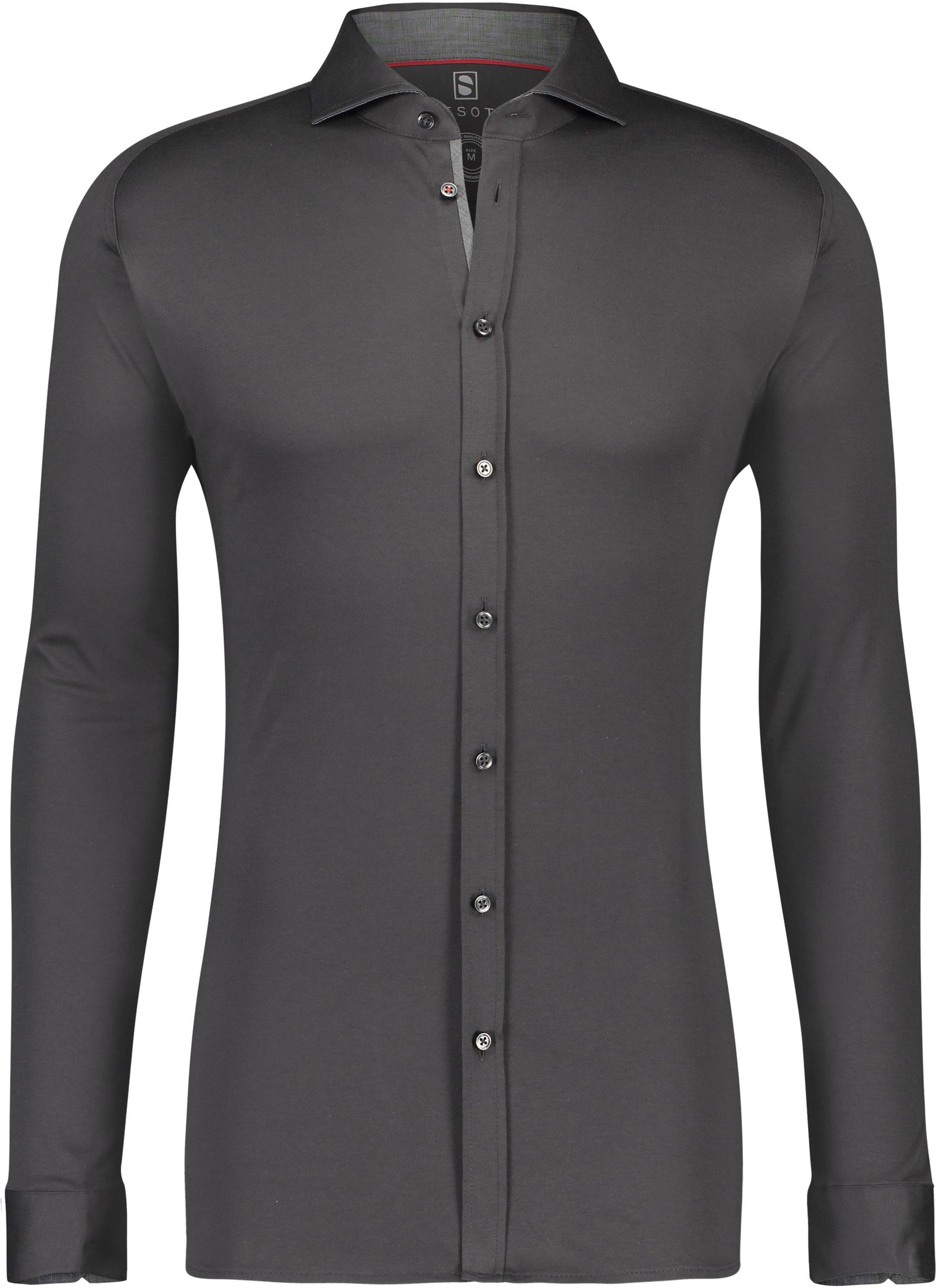 Desoto Shirt Non Iron Indigo Grey foto 0