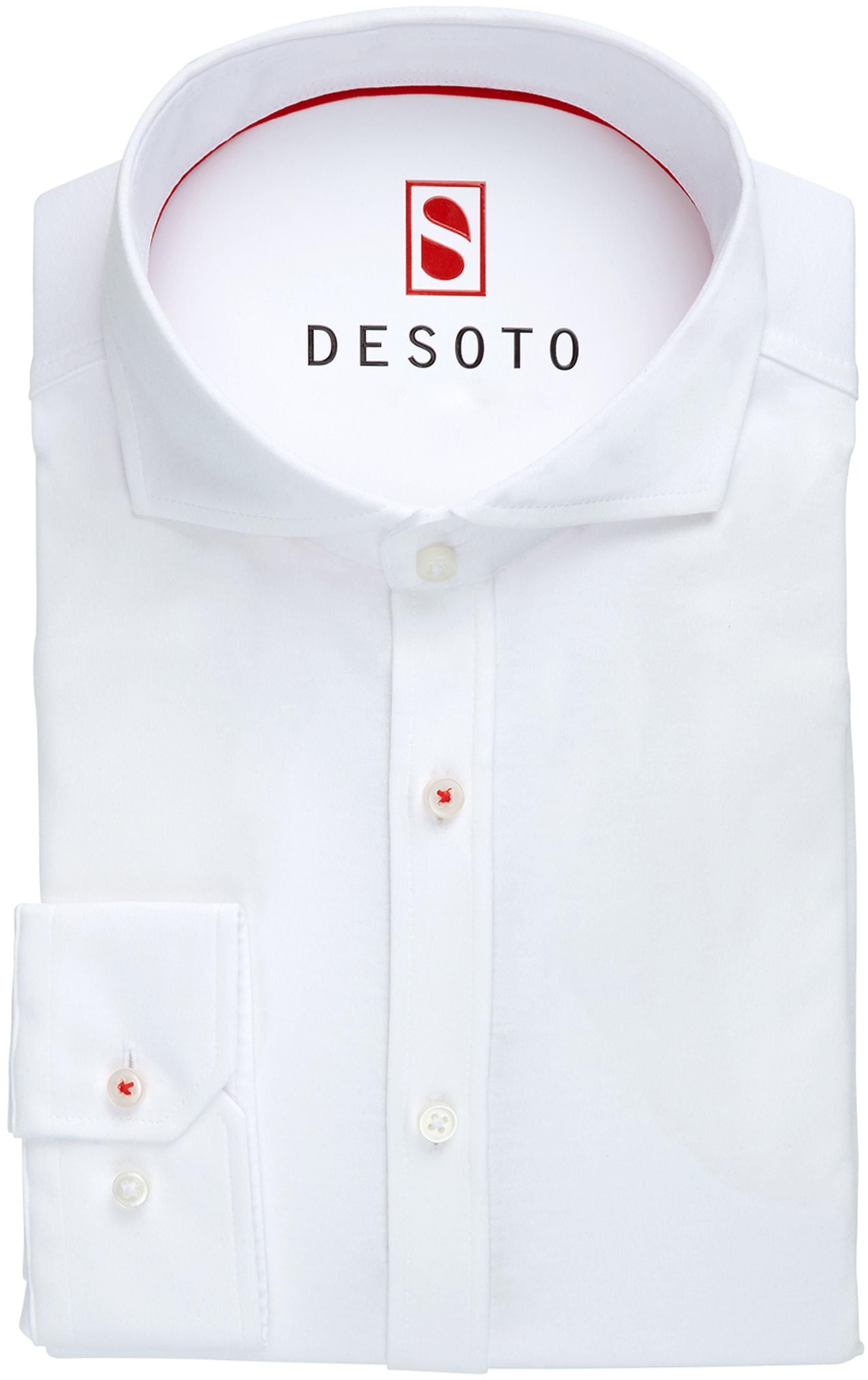 Desoto Shirt Non Iron White foto 2
