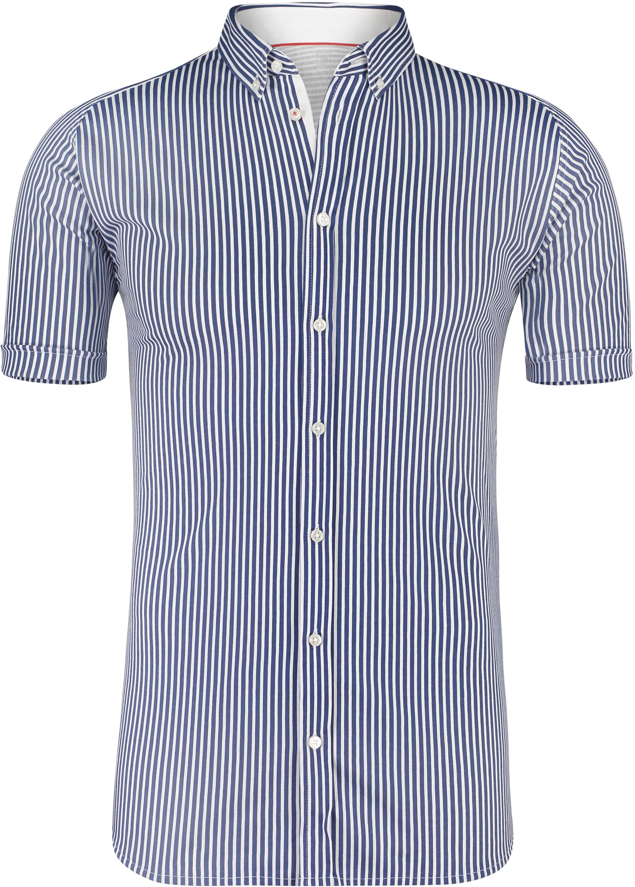e52f8e681301 Desoto Shirt Short Sleeve Striped Navy 21133-3-054 order online ...