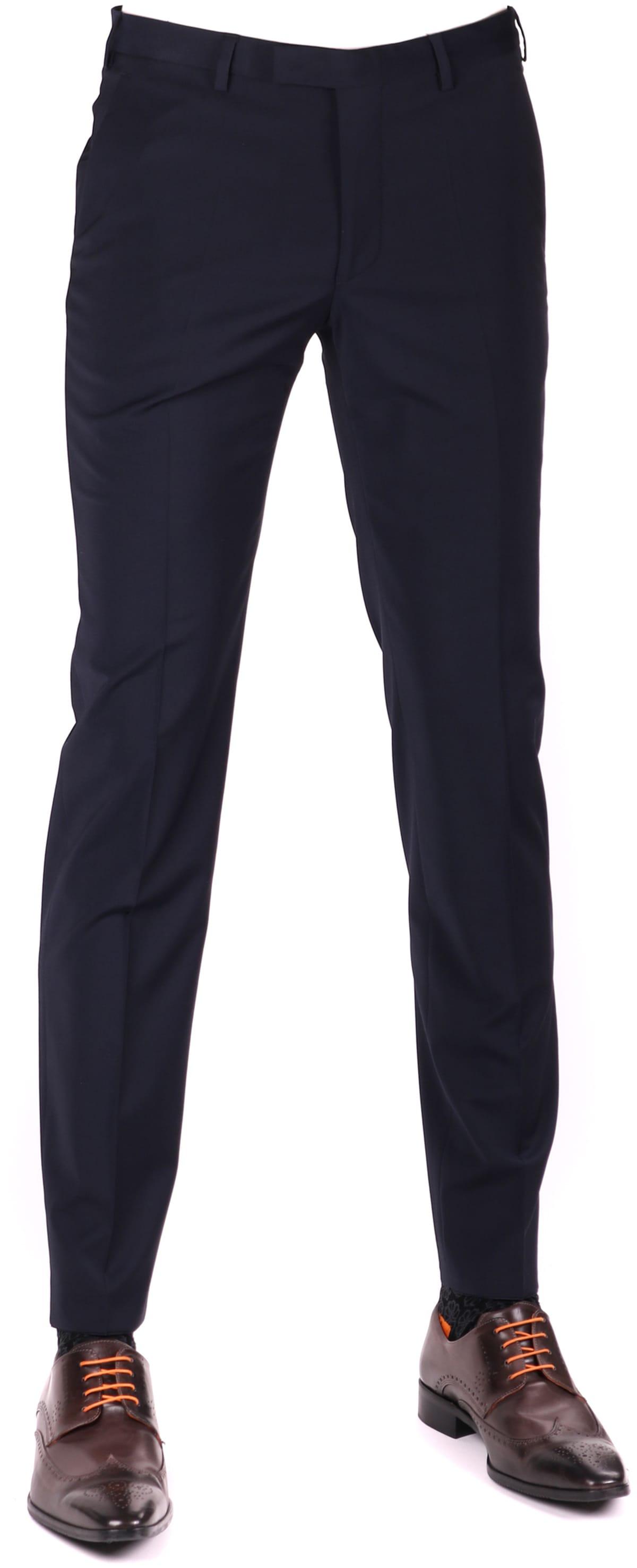 Digel Apollo Pantalon Donkerblauw Stretch foto 0