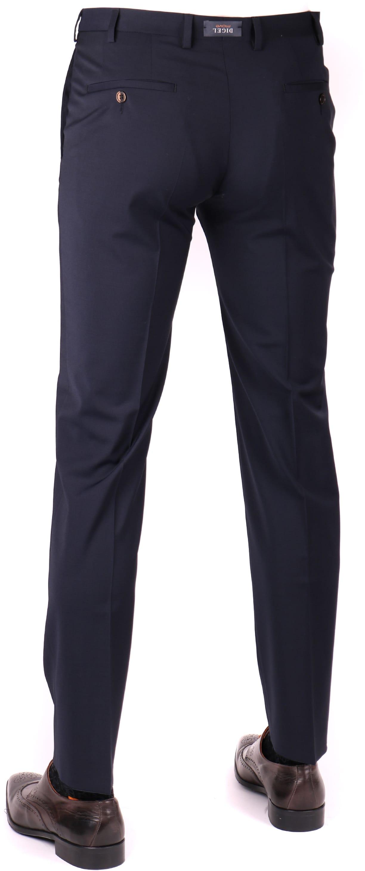 Digel Apollo Pantalon Donkerblauw Stretch foto 1