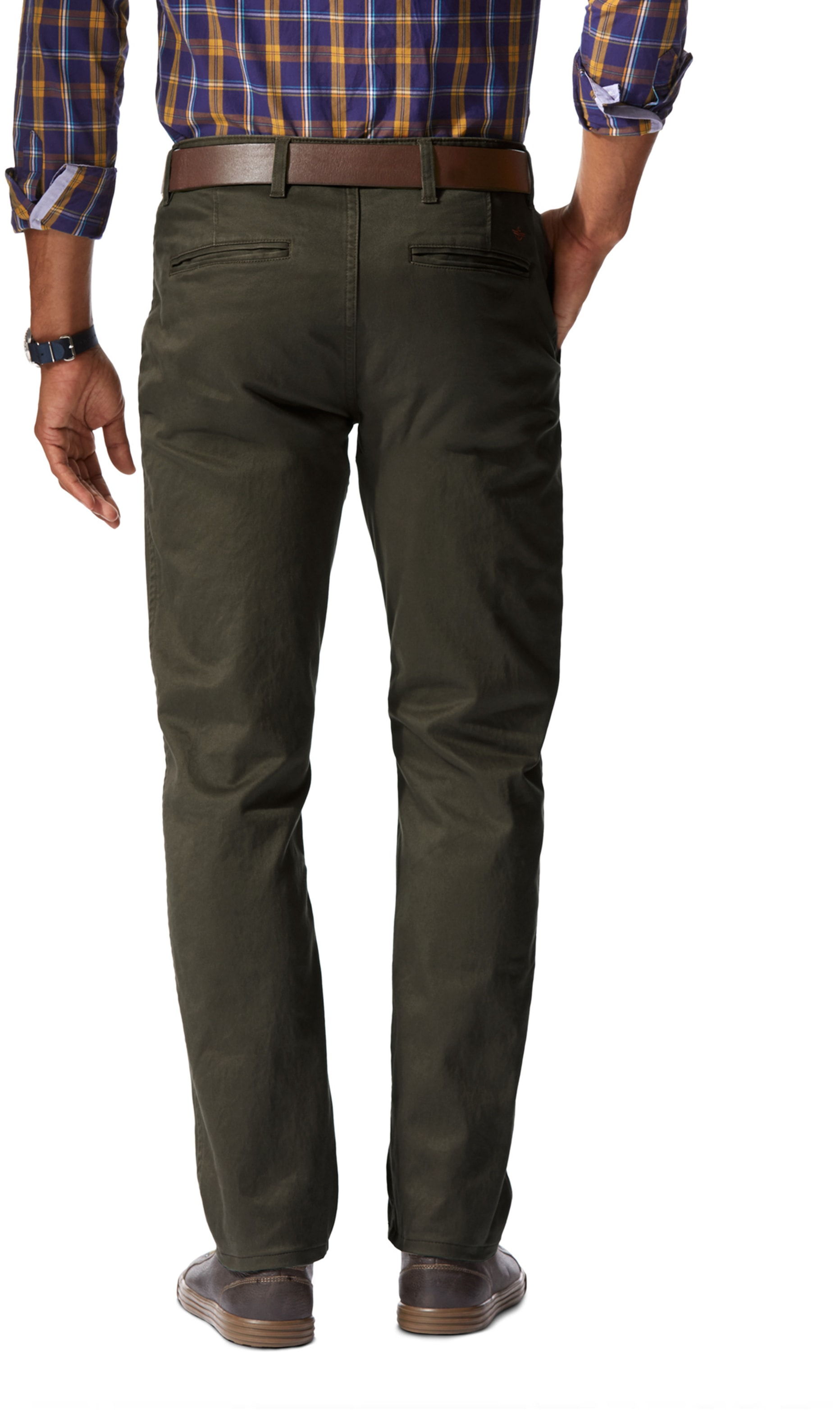 Dockers Alpha Slim Stretch Olive foto 1