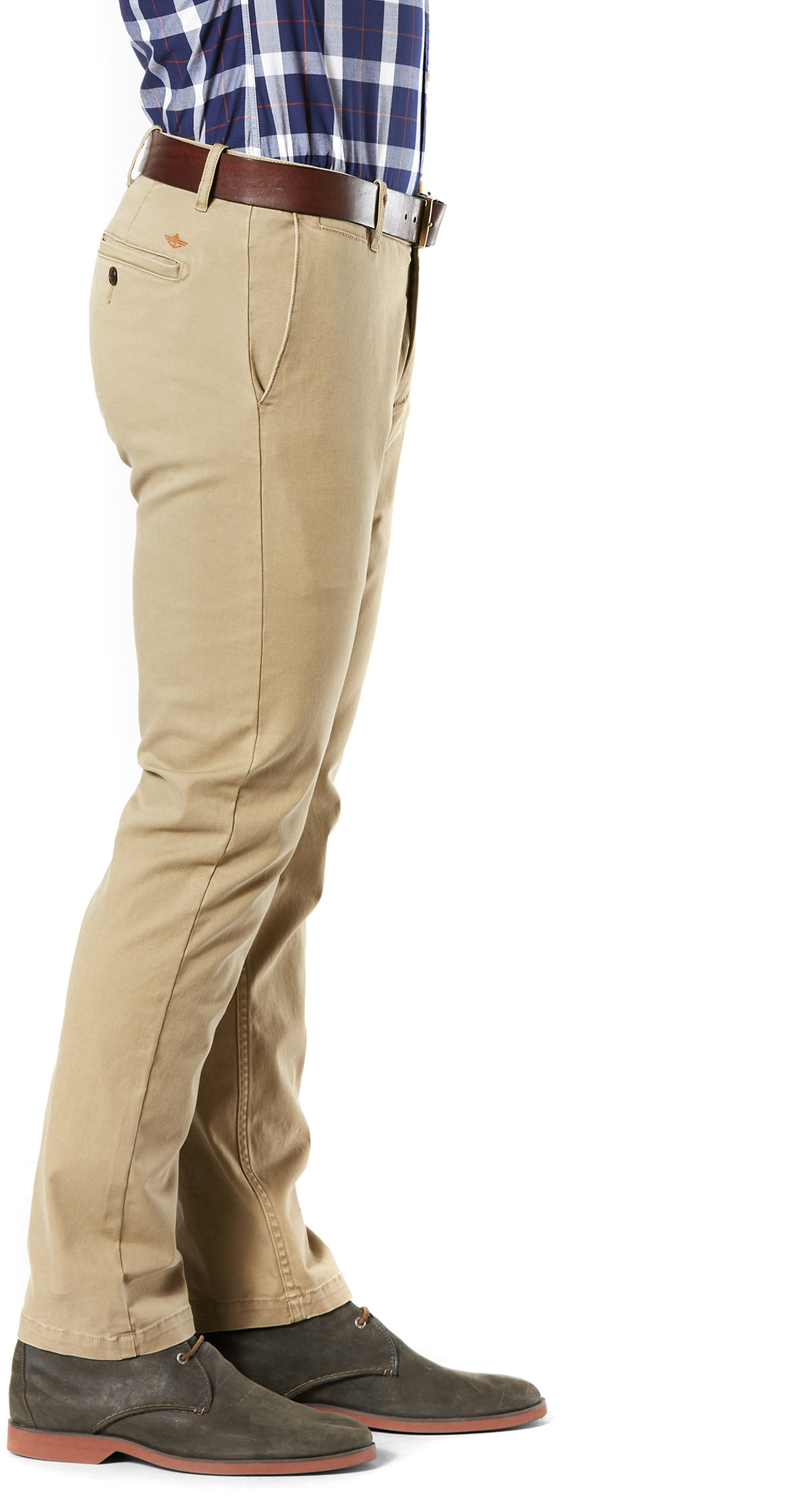 Dockers Pacific Washed Slim Tapered Broek Khaki foto 2
