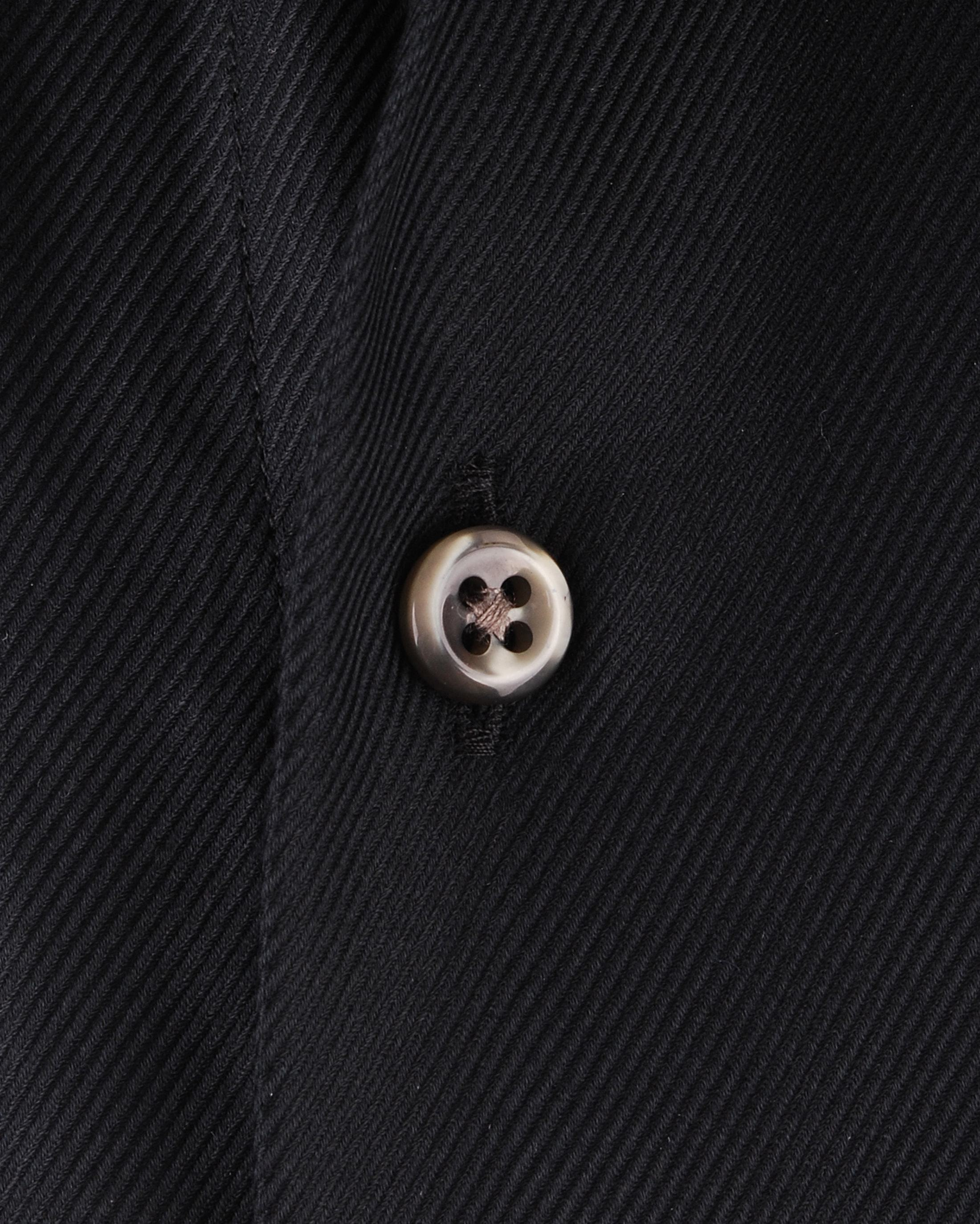 Dress Slim Fit Black Twill foto 1