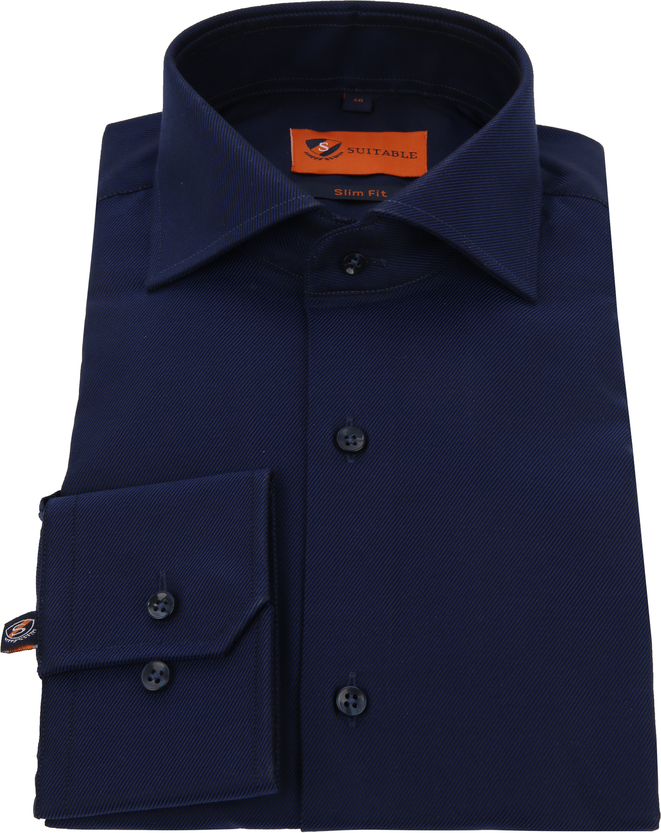 Dress Slim Fit Navy Night Twill foto 2