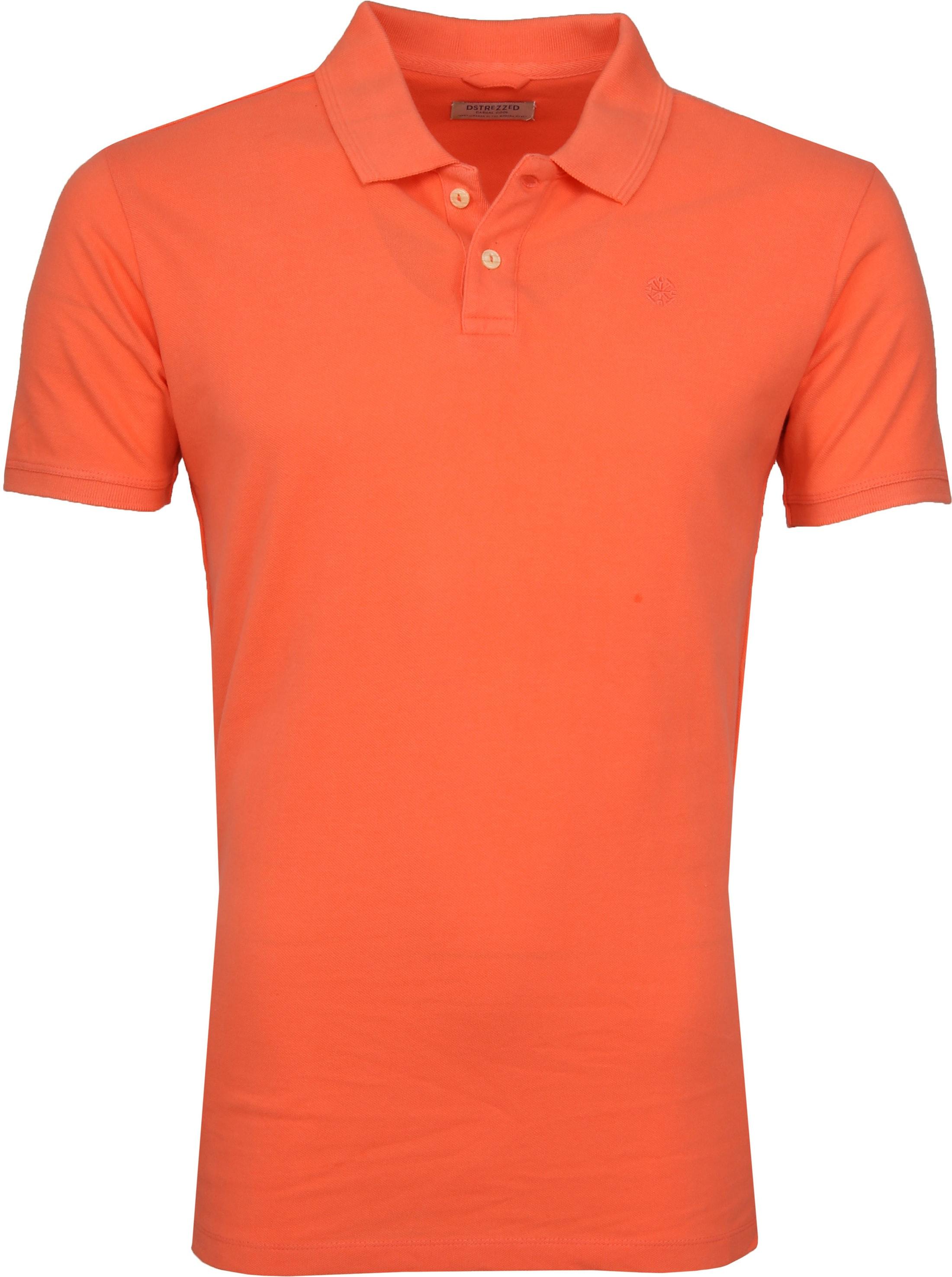 Dstrezzed Bowie Poloshirt Orange foto 0