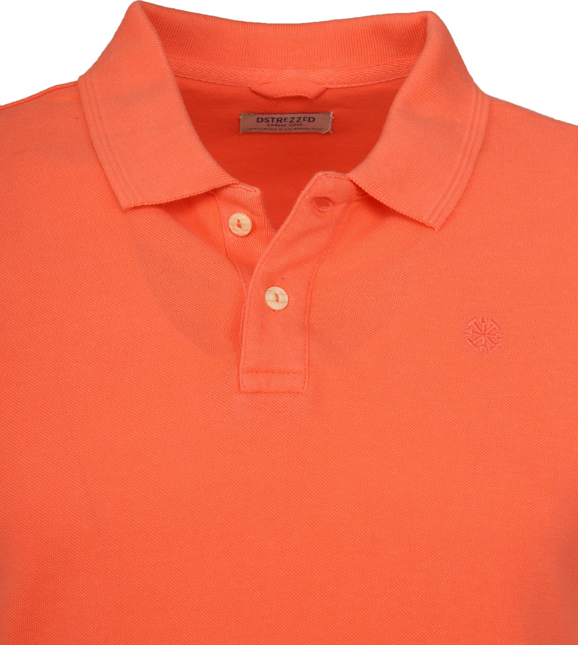 Dstrezzed Bowie Poloshirt Orange foto 1