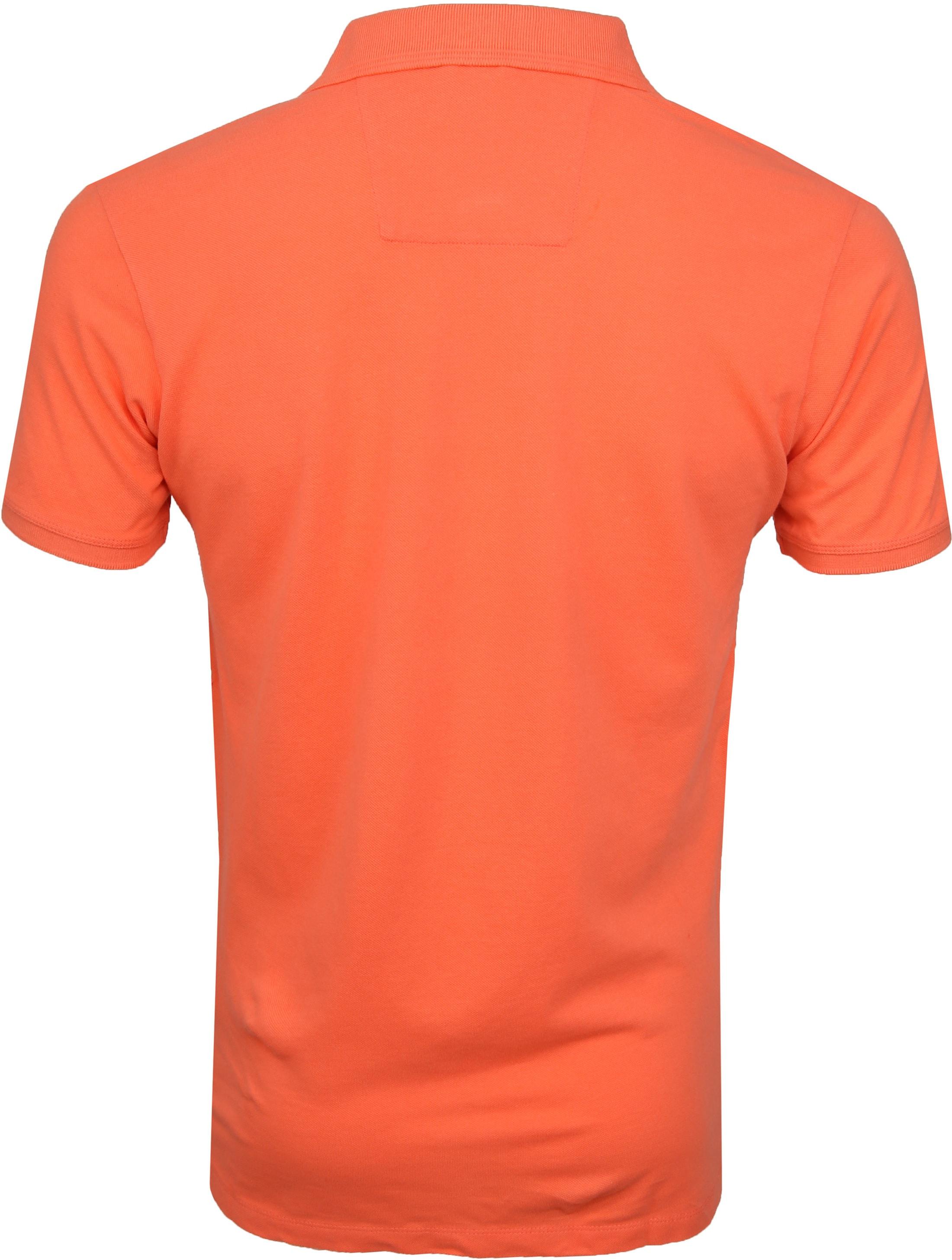 Dstrezzed Bowie Poloshirt Orange foto 3
