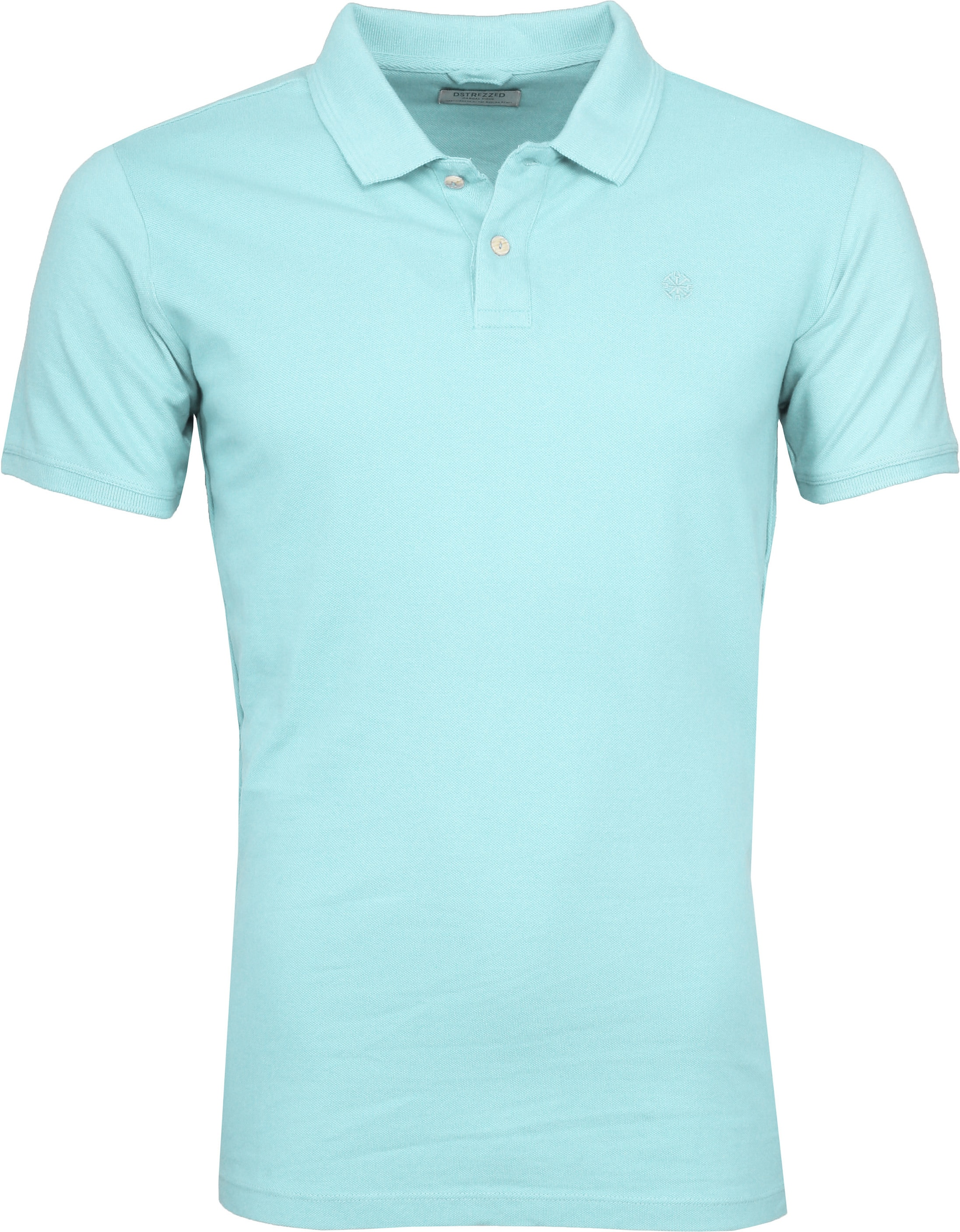 Dstrezzed Bowie Poloshirt Turquoise foto 0