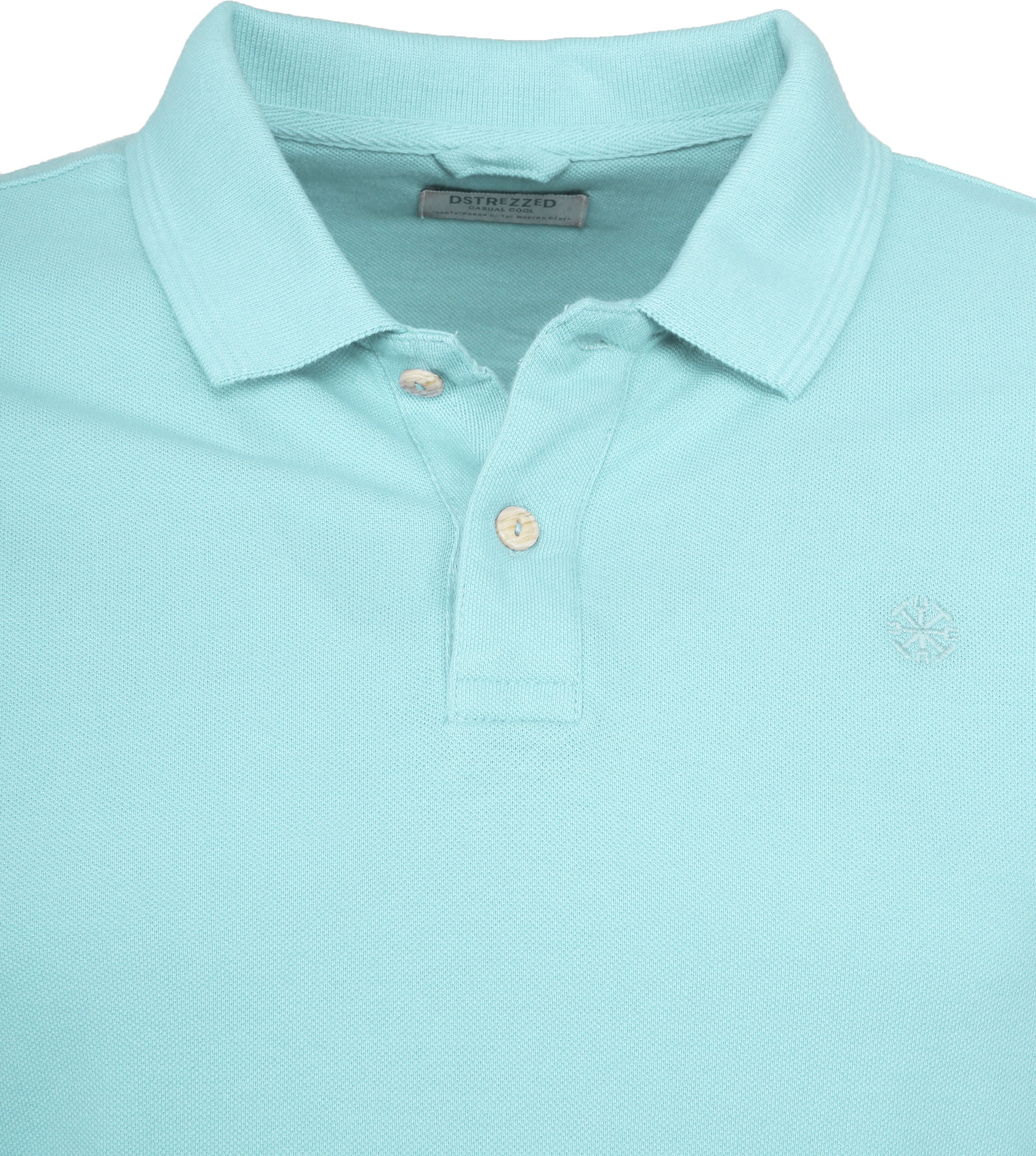 Dstrezzed Bowie Poloshirt Turquoise foto 1