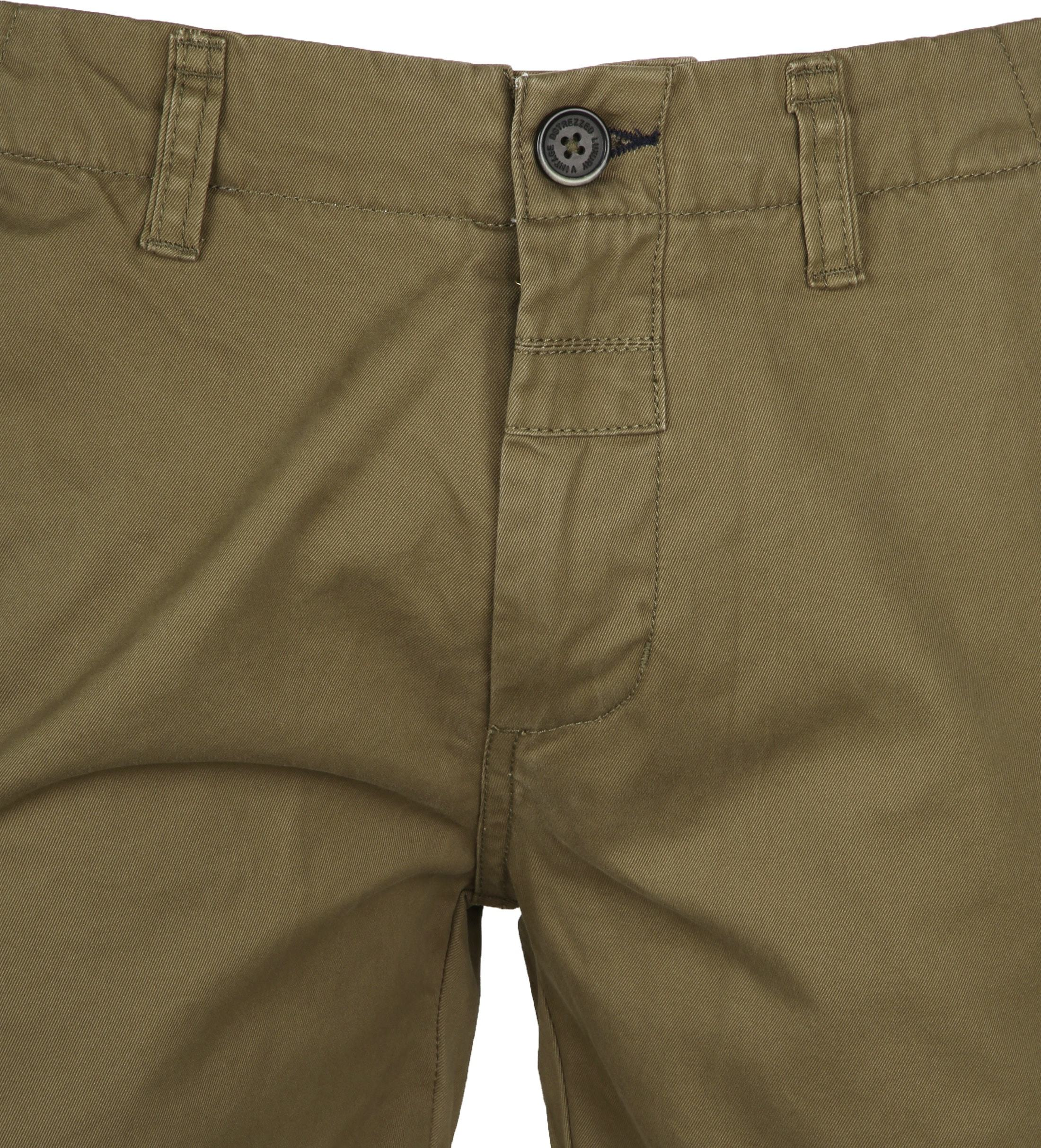 Dstrezzed Chino Short Dense Army foto 1