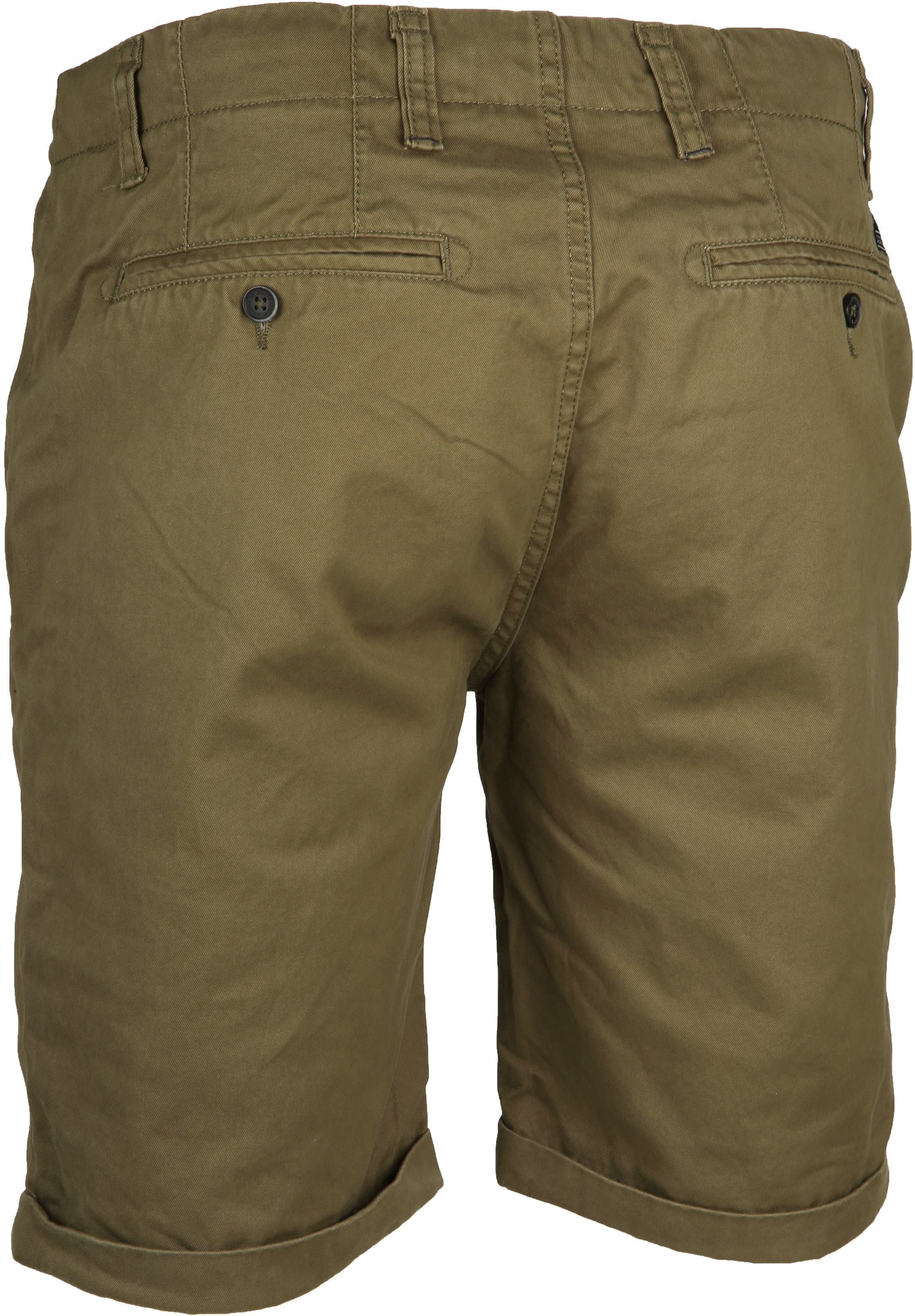Dstrezzed Chino Short Dense Army foto 2