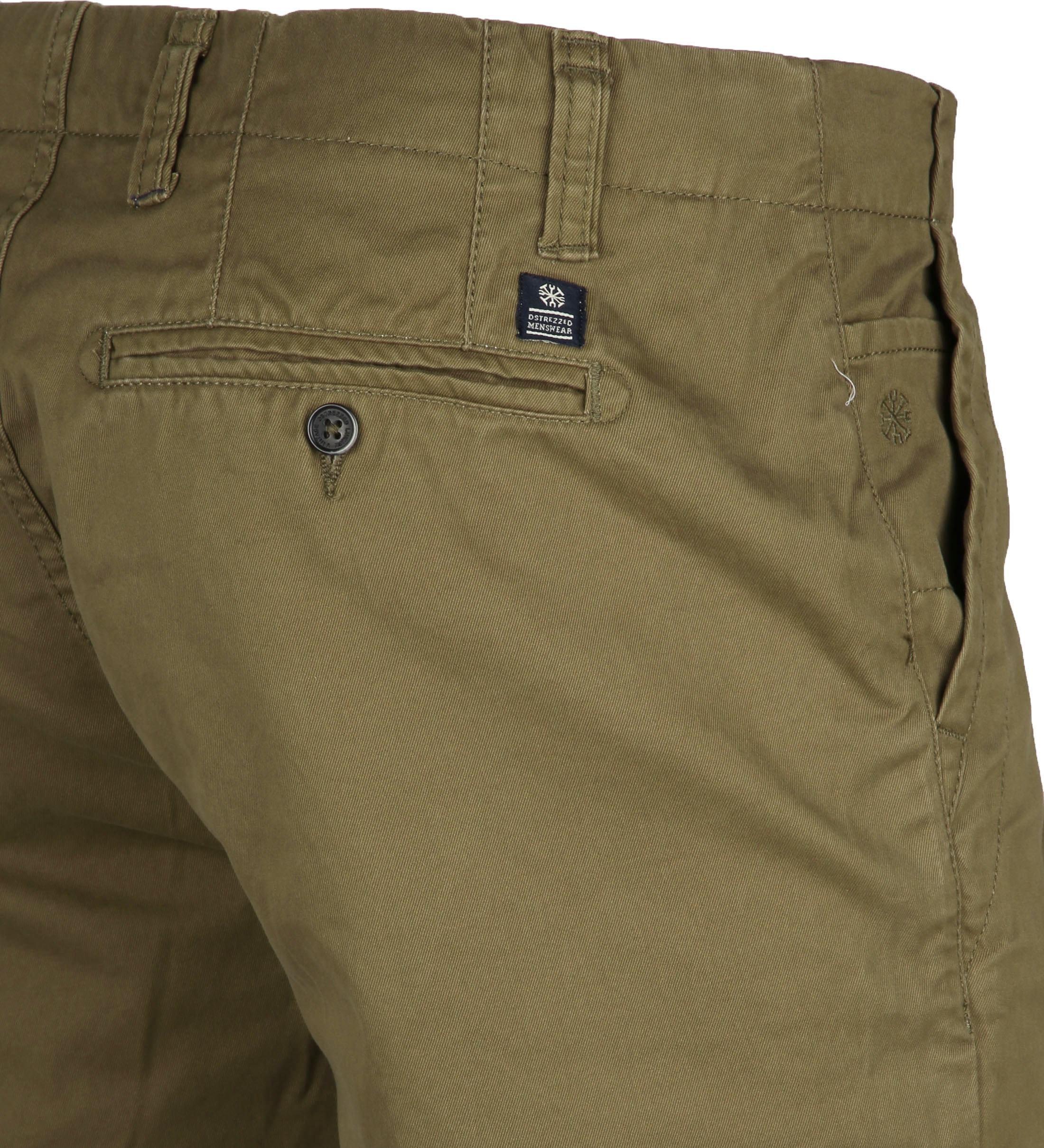 Dstrezzed Chino Short Dense Army foto 3