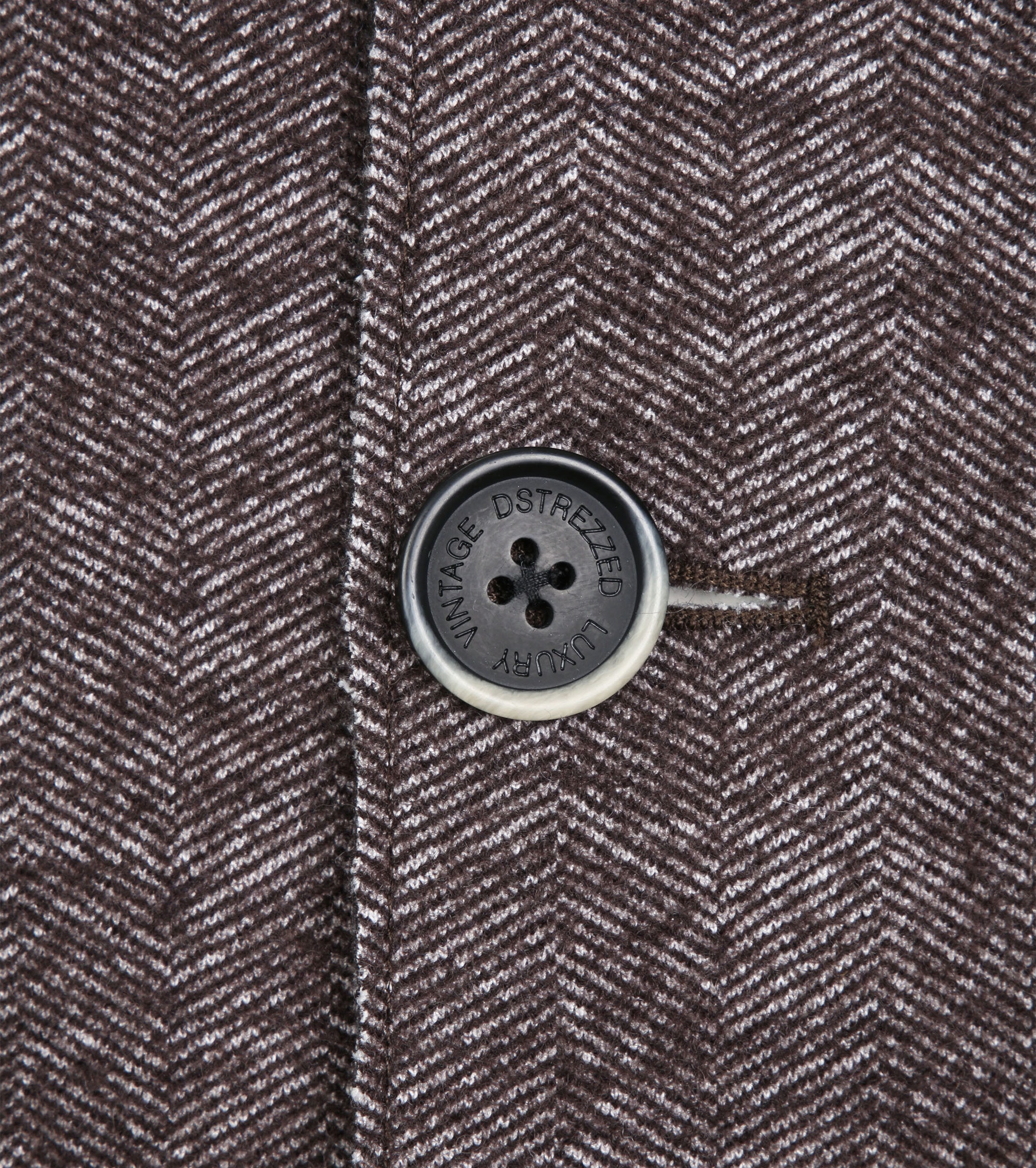 Dstrezzed Coat Boucle Brown Melange foto 4