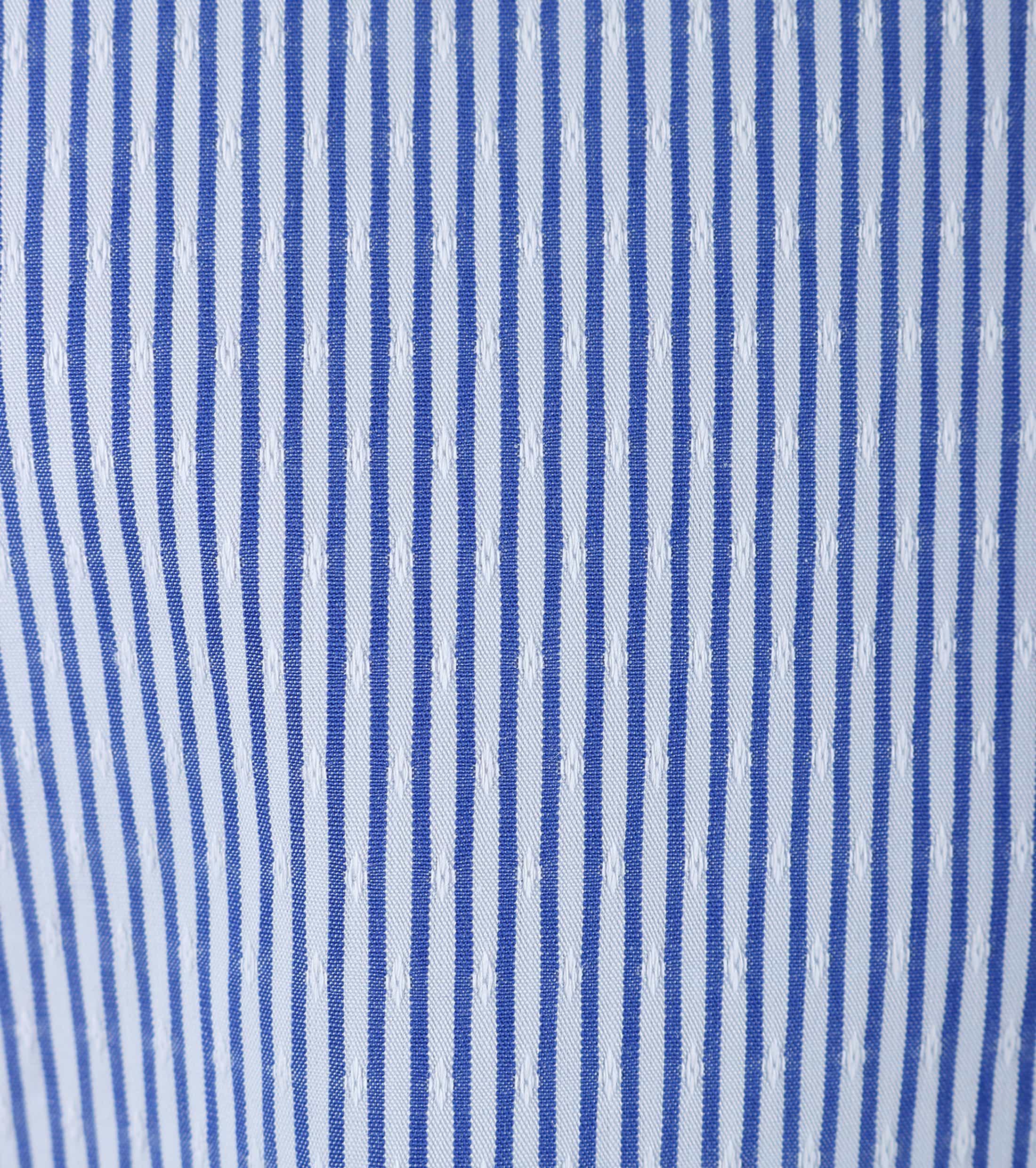 Dstrezzed Hemd Blau Streifen Foto 3
