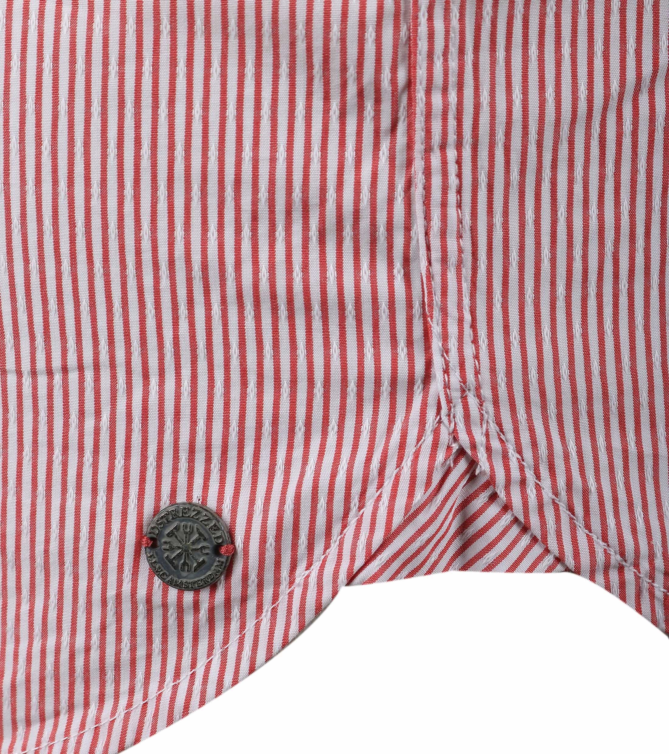 Dstrezzed Hemd Rot Streifen Foto 2