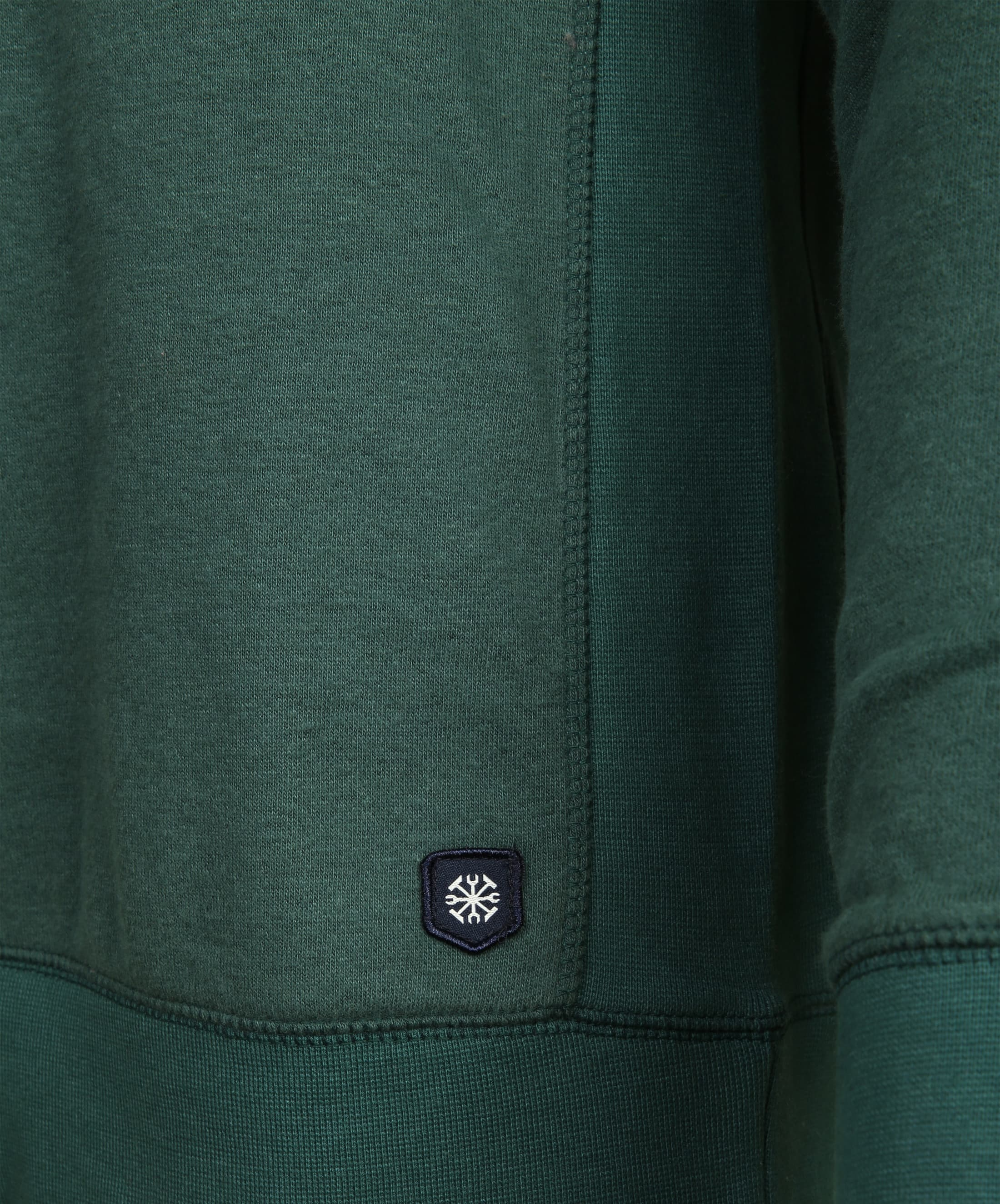 Dstrezzed Hoodie Groen Logo foto 2