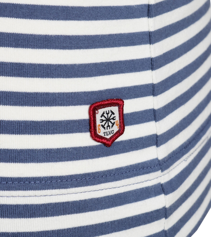 Dstrezzed Longsleeve T-shirt Blau Streifen foto 2
