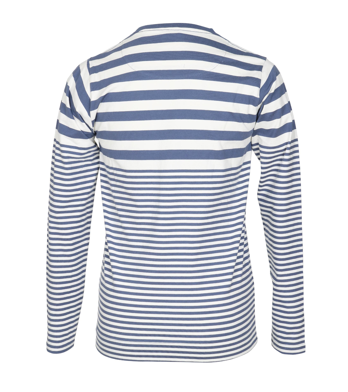 Dstrezzed Longsleeve T-shirt Blau Streifen foto 3