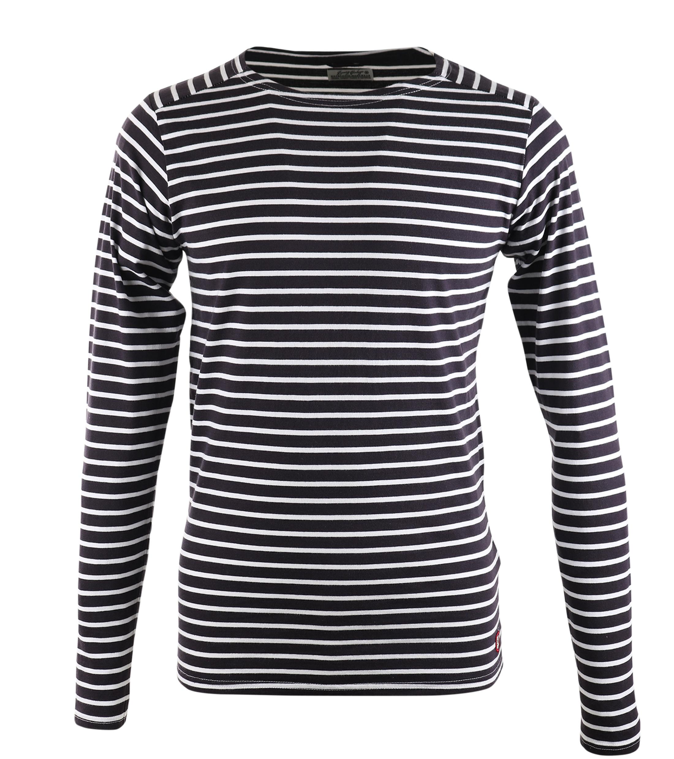 Dstrezzed Longsleeve T-shirt Navy Stripes foto 0