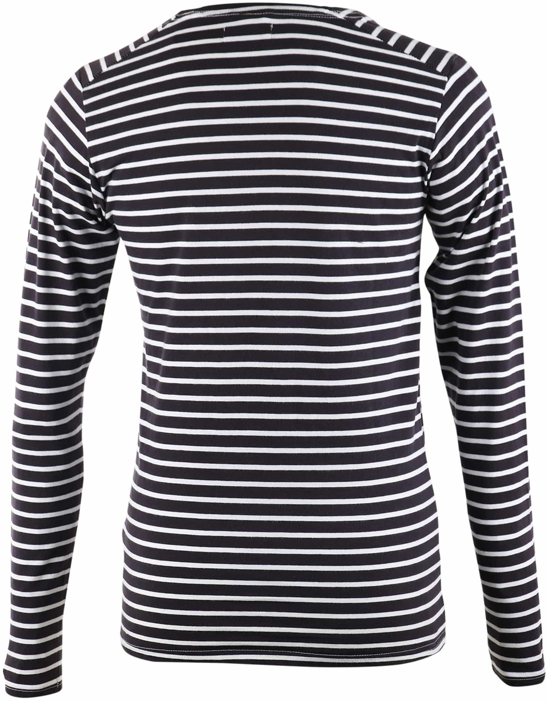 Dstrezzed Longsleeve T-shirt Navy Stripes