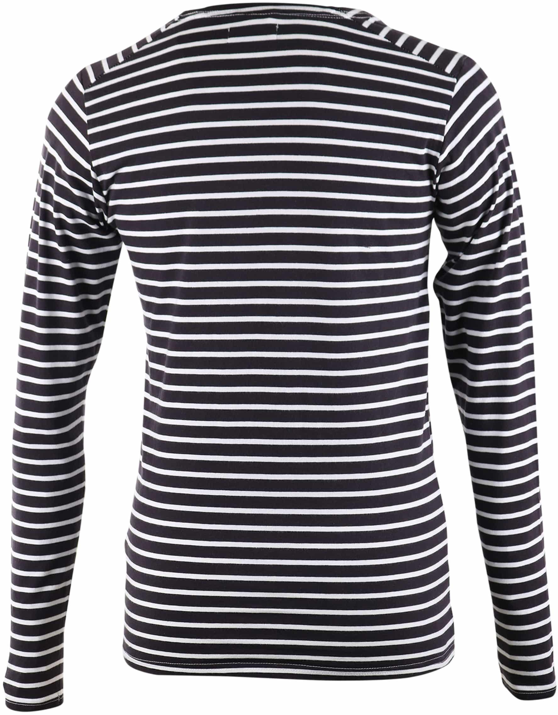 Dstrezzed Longsleeve T-shirt Navy Stripes foto 1