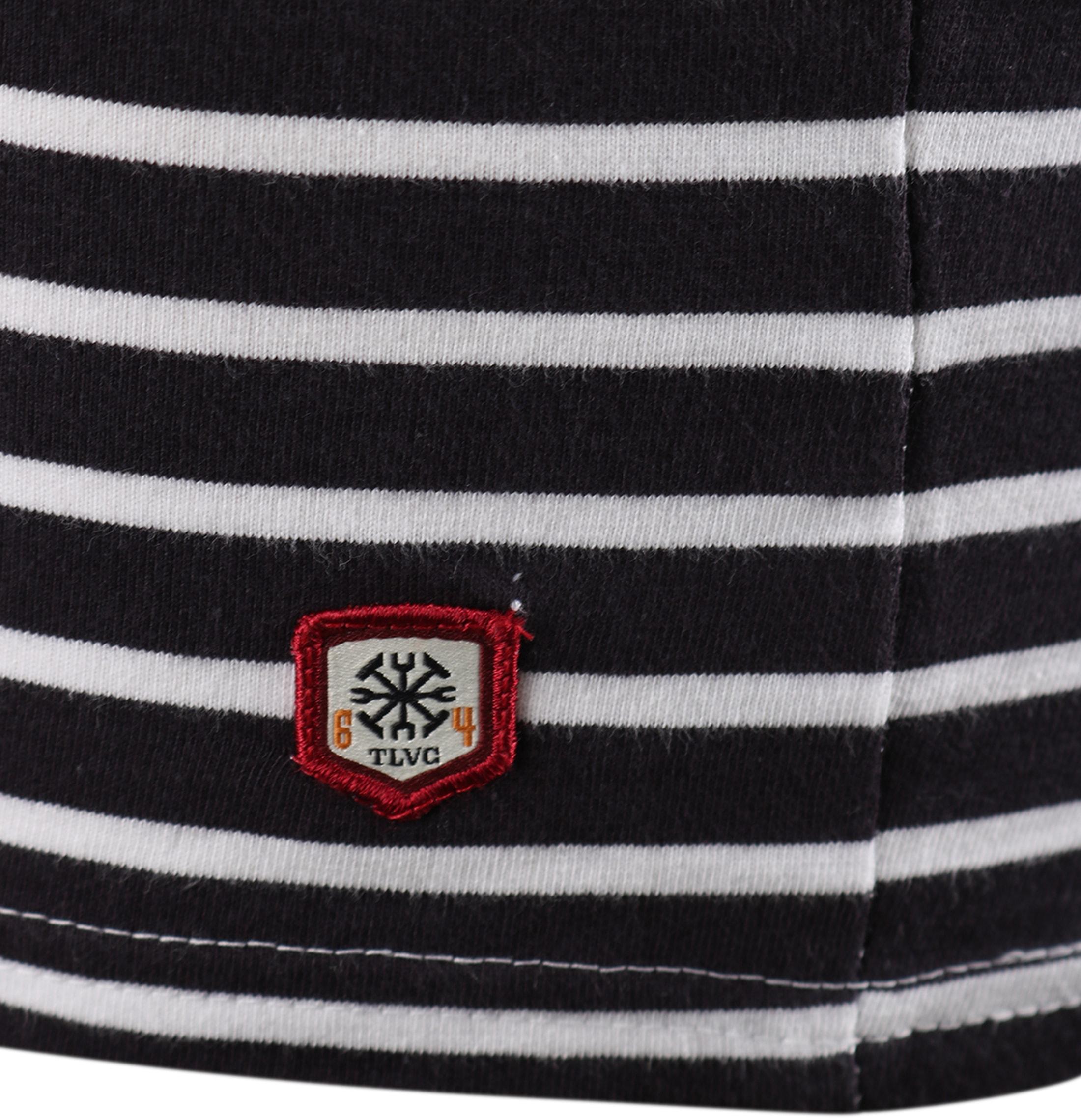 Dstrezzed Longsleeve T-shirt Navy Stripes foto 2