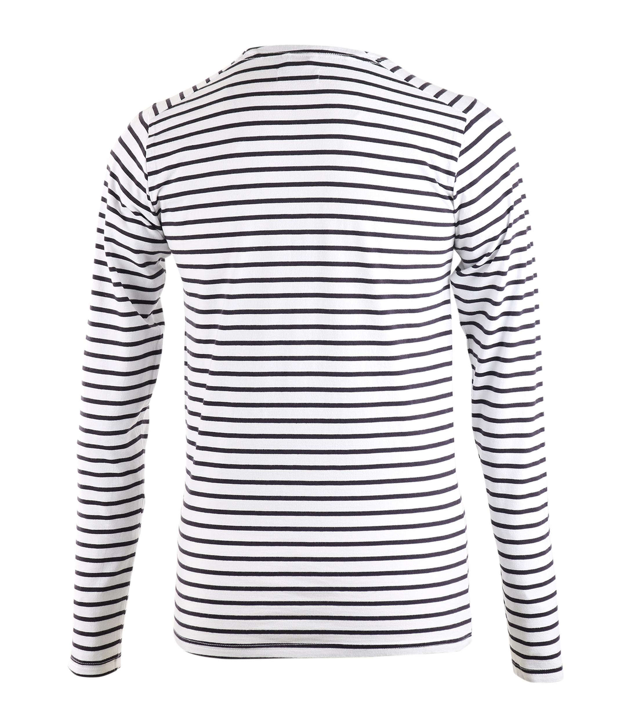 Dstrezzed Longsleeve T-shirt White Stripes