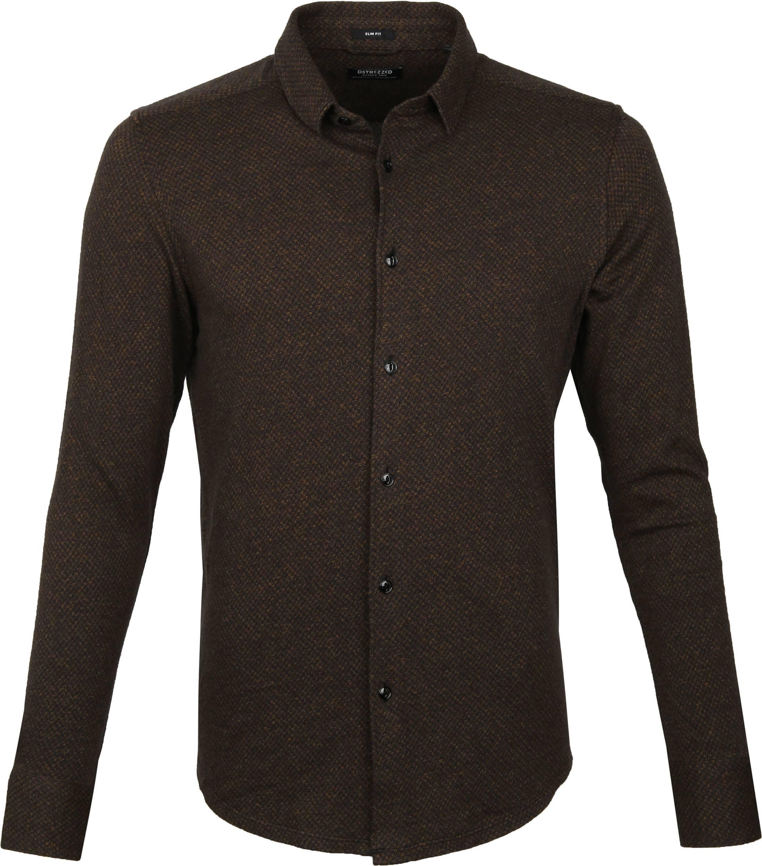 Dstrezzed Overhemd Bruin